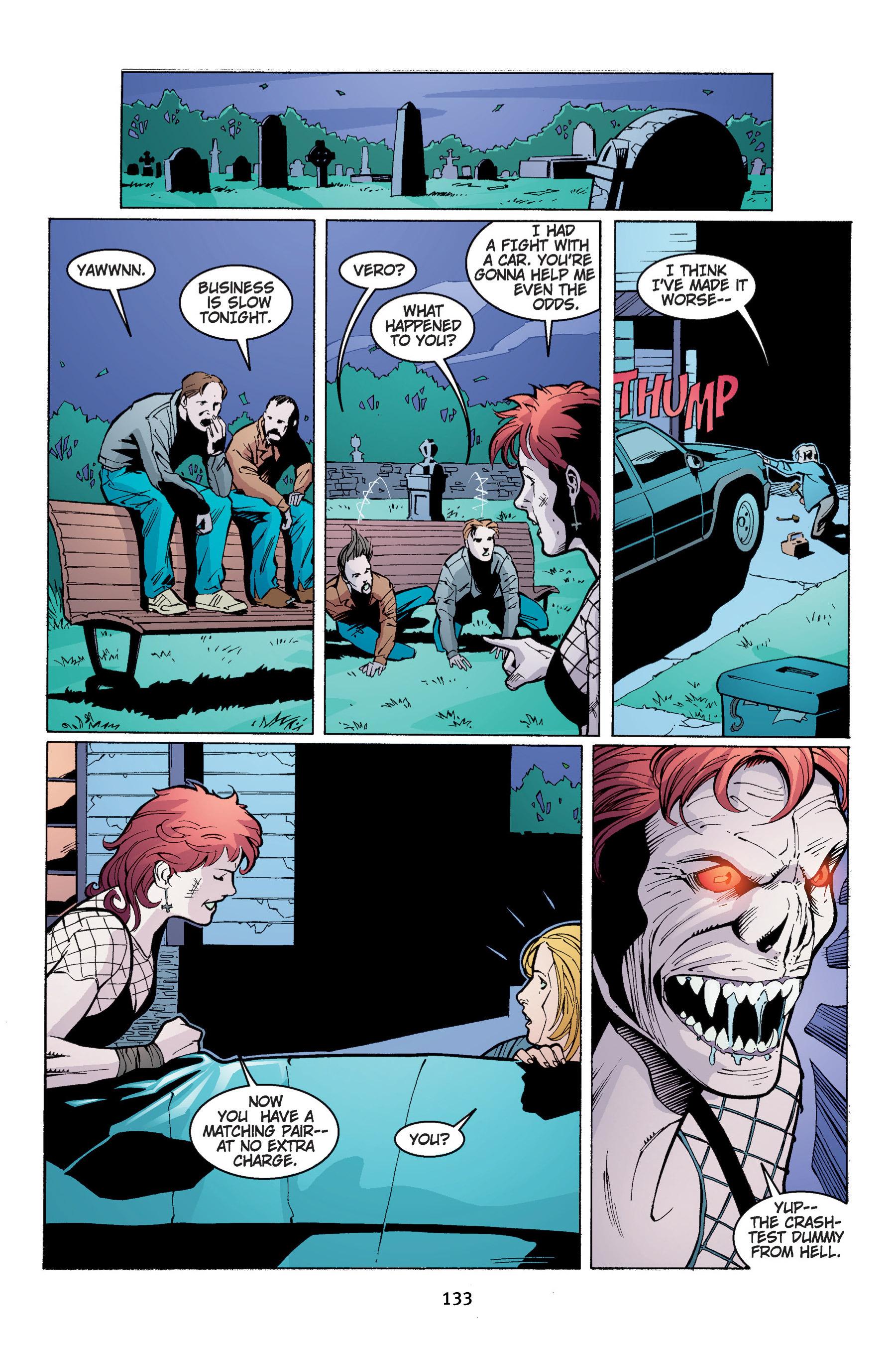 Read online Buffy the Vampire Slayer: Omnibus comic -  Issue # TPB 4 - 134
