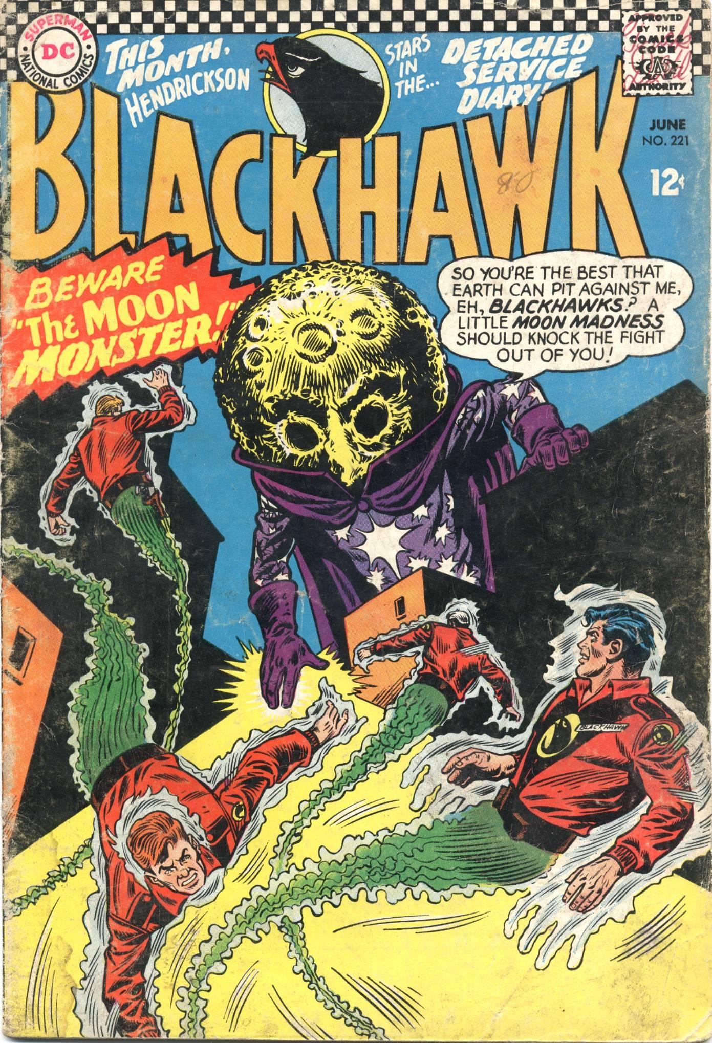 Blackhawk (1957) 221 Page 1