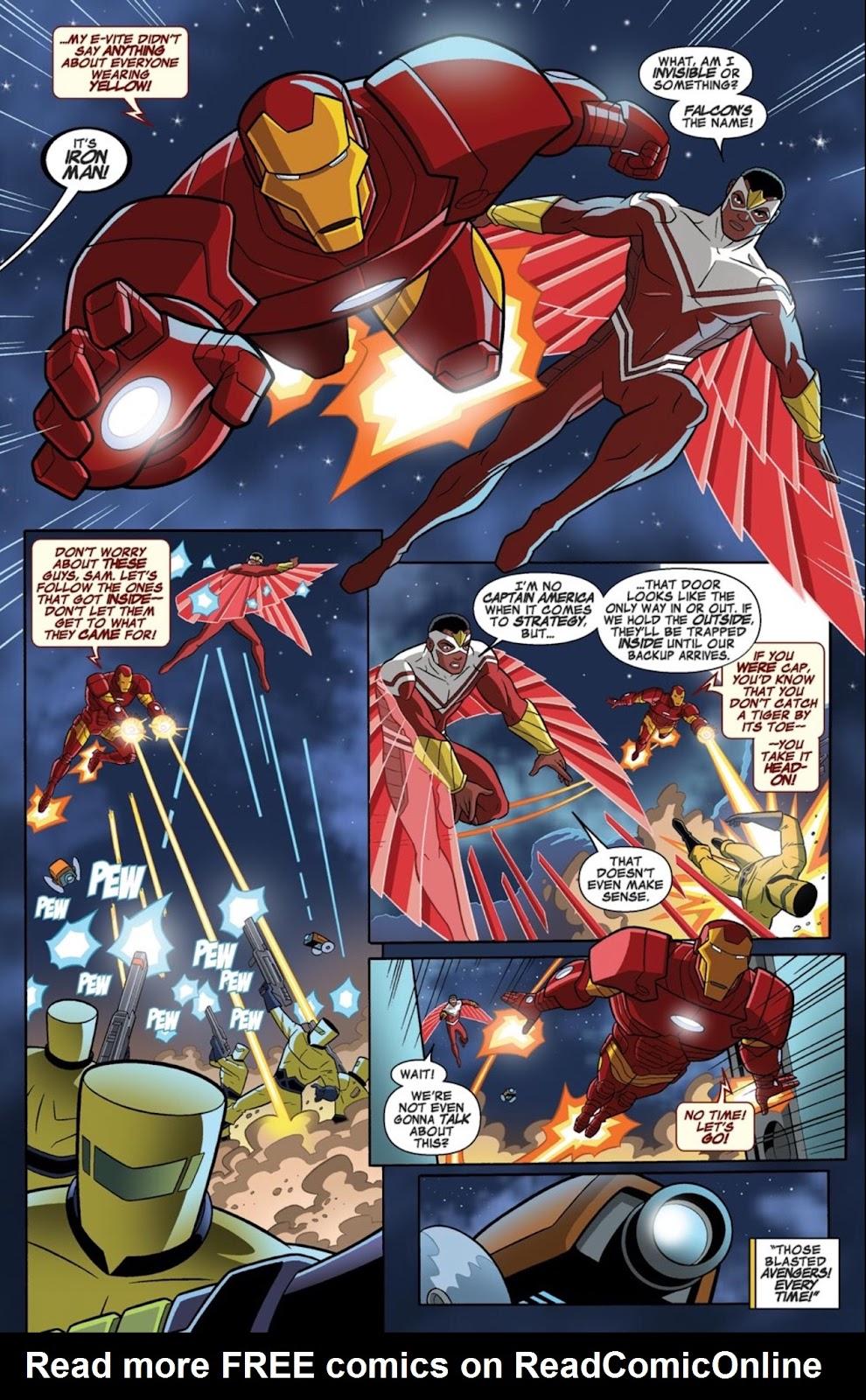Read online Marvel Universe Avengers Assemble Season 2 comic -  Issue #1 - 24