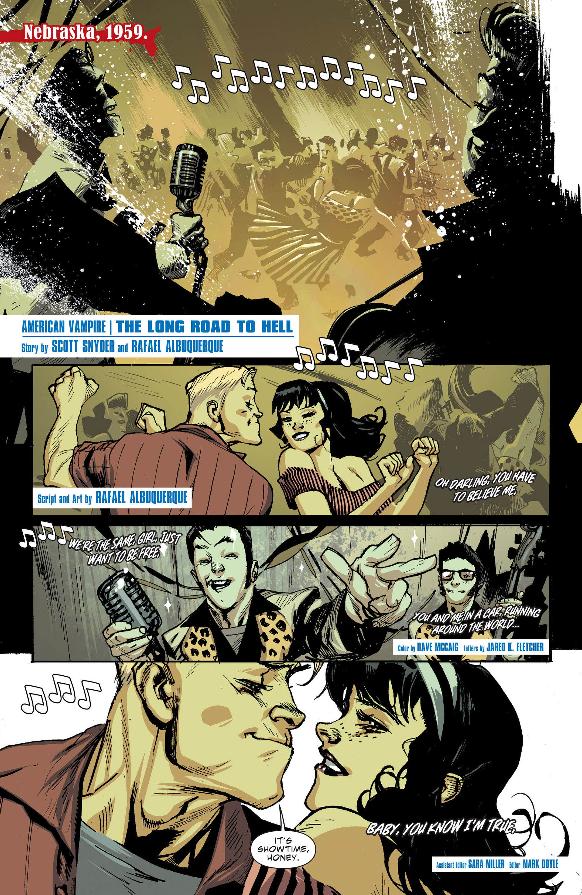Read online American Vampire: The Long Road To Hell comic -  Issue # Full - 2