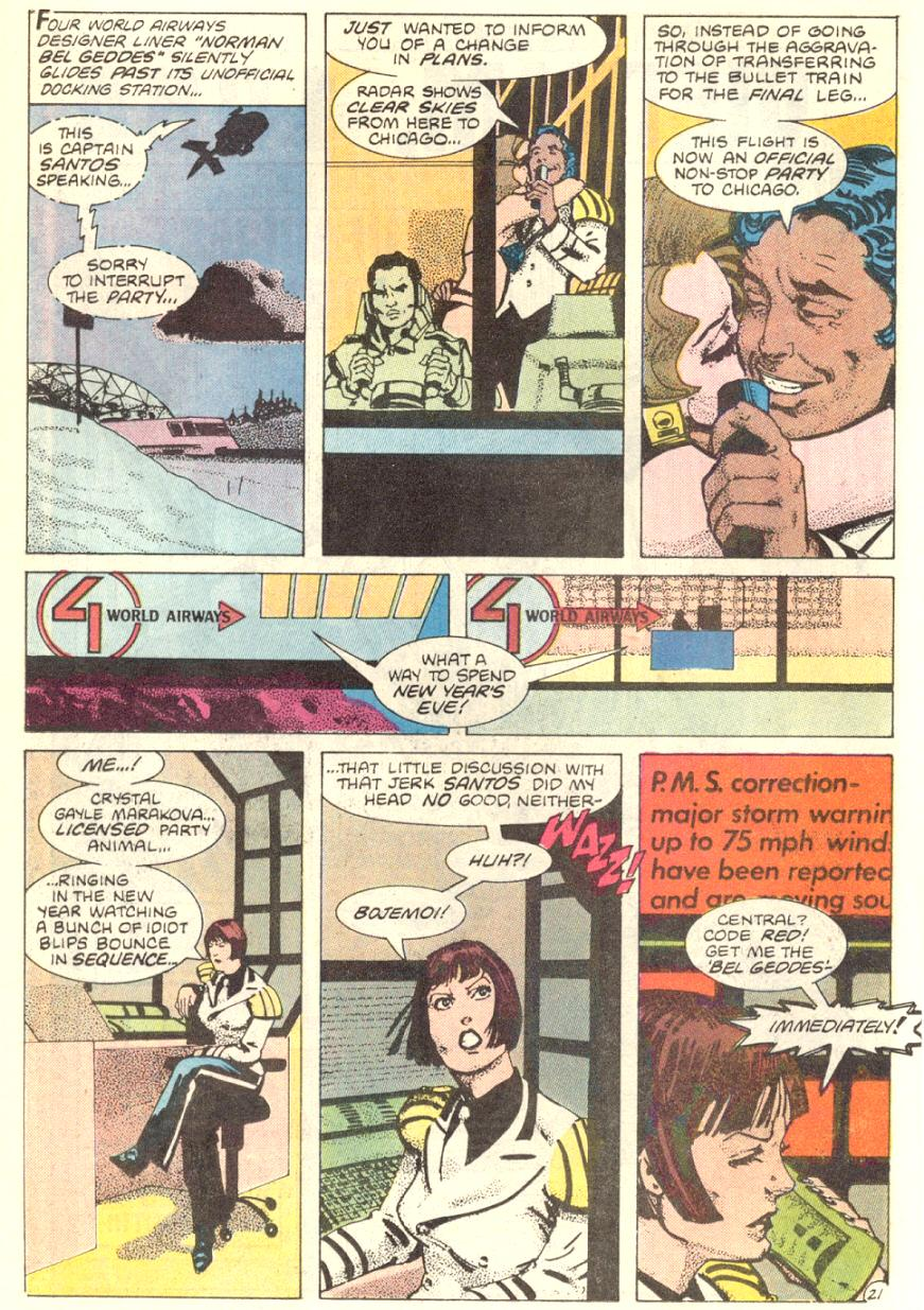 Read online American Flagg! comic -  Issue #7 - 22