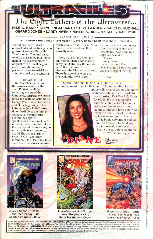 Read online Sludge comic -  Issue #1 - 28