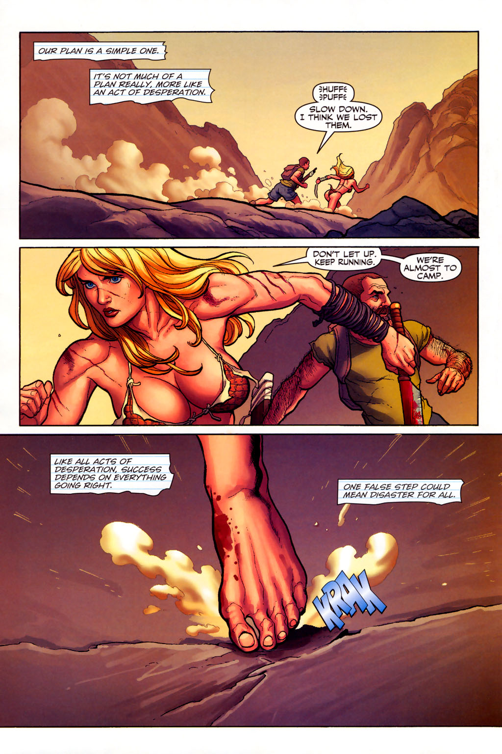 Read online Shanna, the She-Devil (2005) comic -  Issue #6 - 12