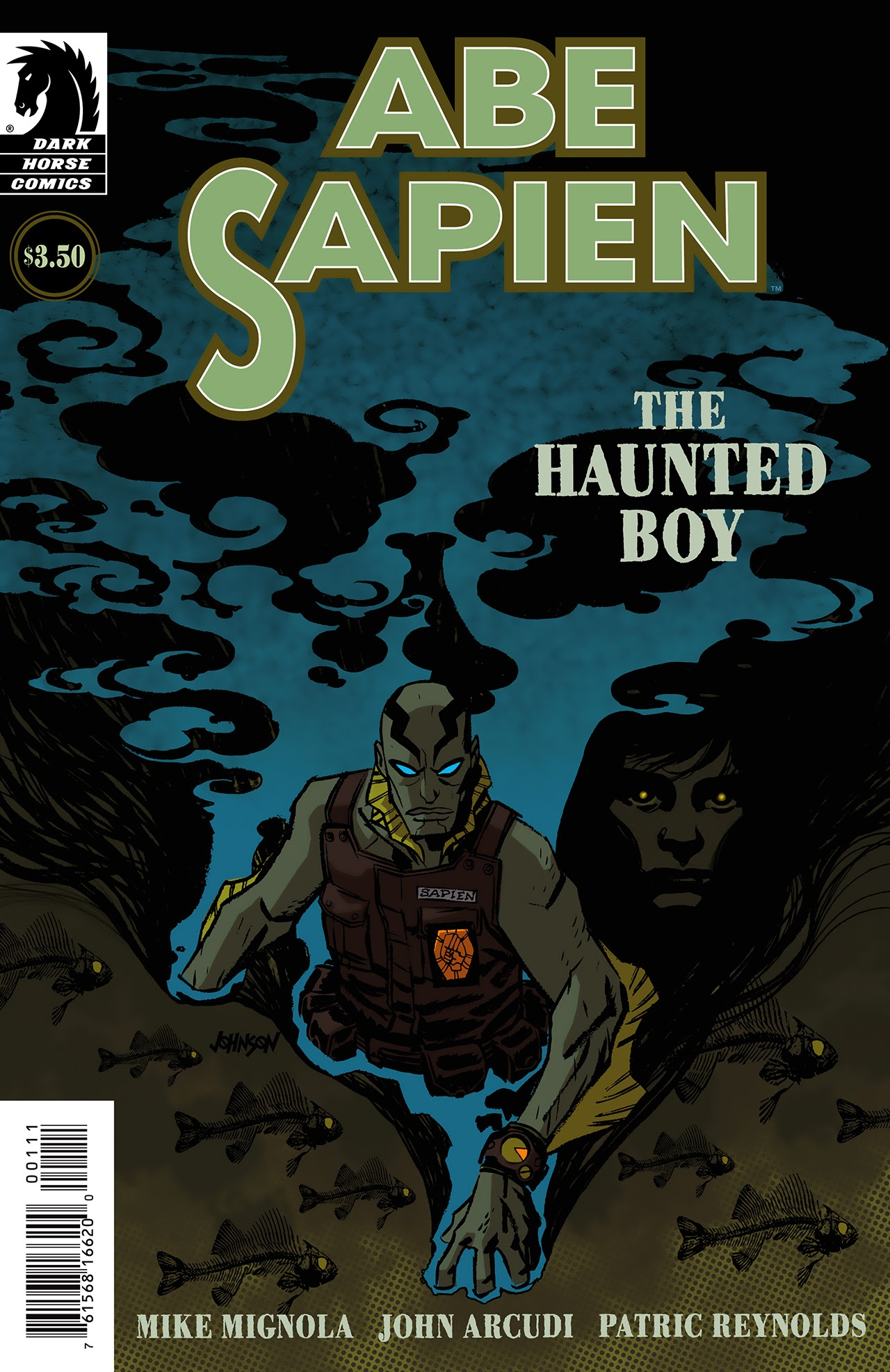 Abe Sapien: The Haunted Boy Full Page 1