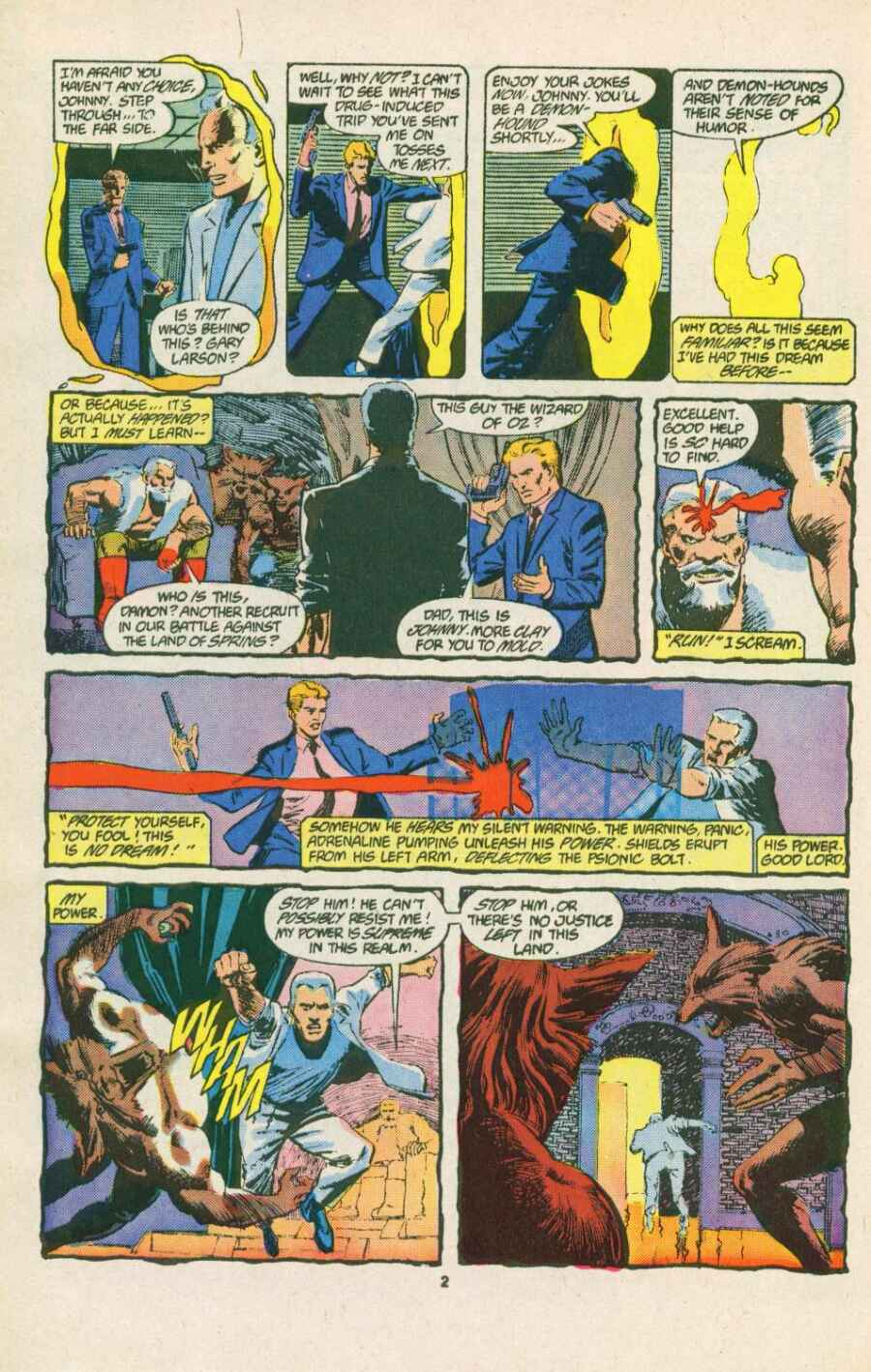 Read online Justice (1986) comic -  Issue #15 - 3