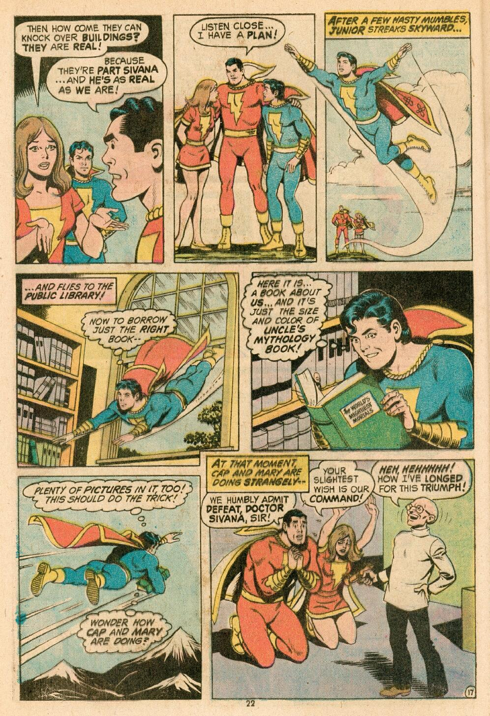 Read online Shazam! (1973) comic -  Issue #14 - 19