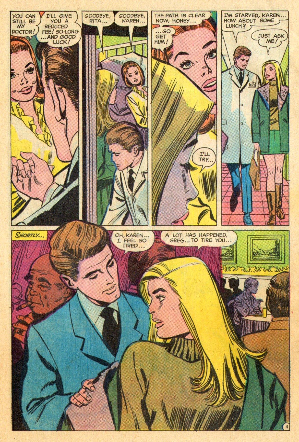 Read online Secret Hearts comic -  Issue #136 - 28