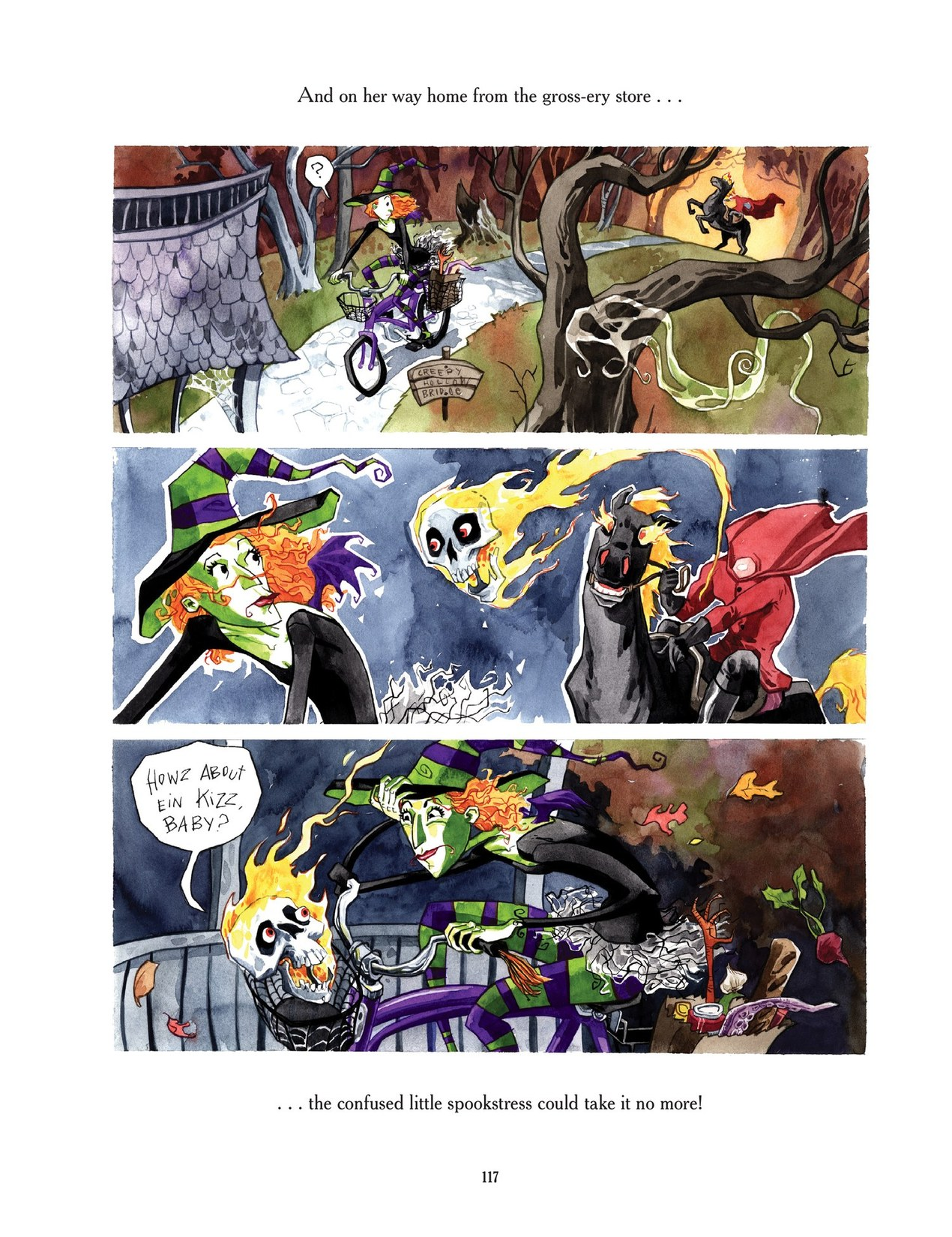 Read online Scary Godmother comic -  Issue # TPB - 117