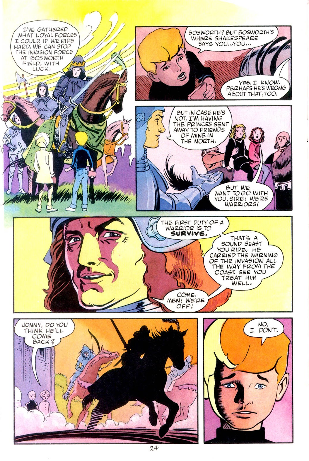 Jonny Quest (1986) issue 10 - Page 26