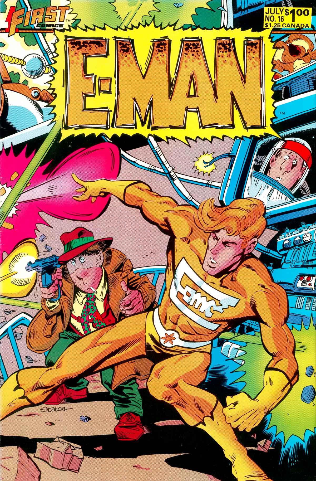 E-Man (1983) 16 Page 1
