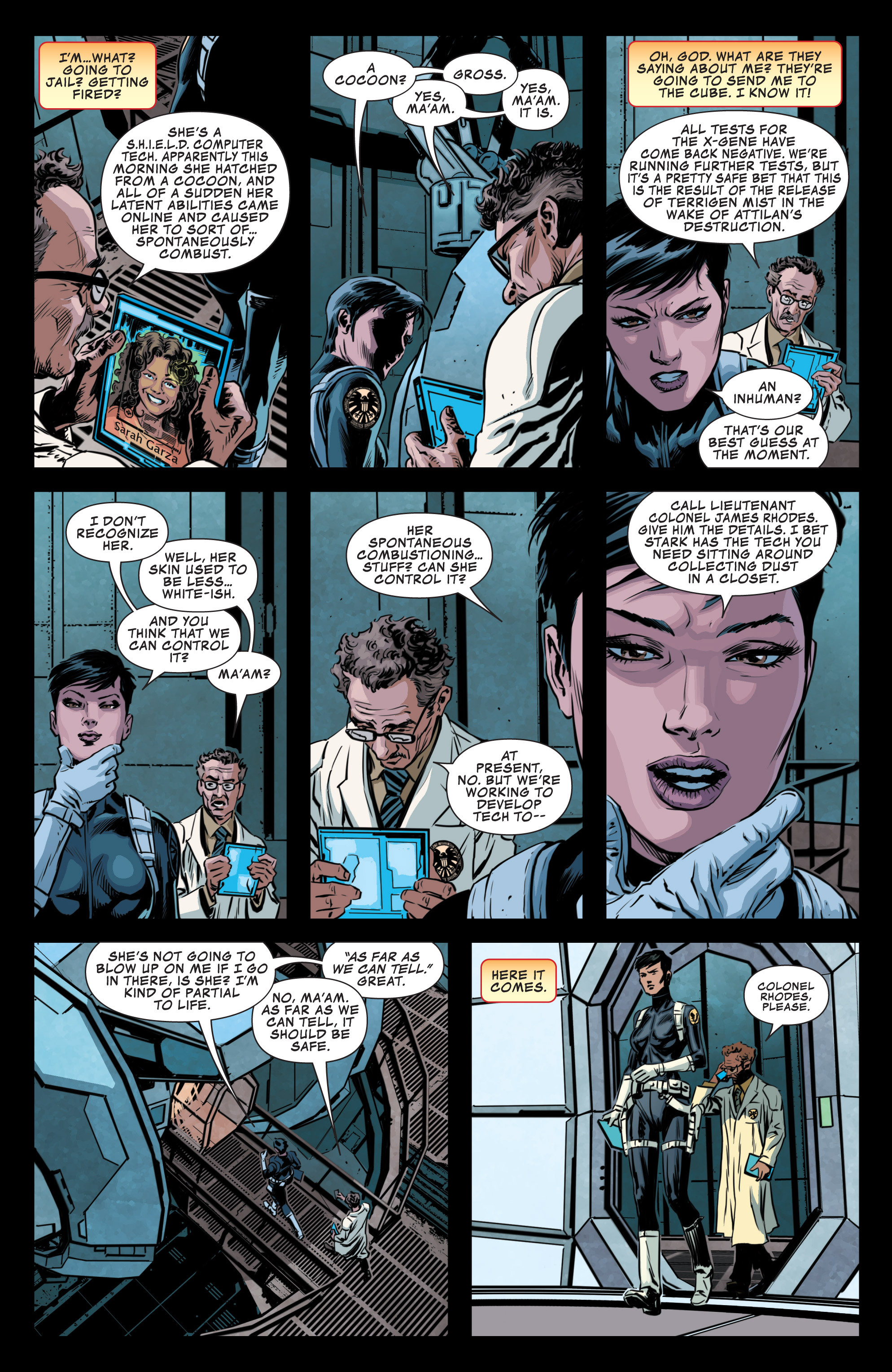 Read online Secret Avengers (2013) comic -  Issue #10 - 8