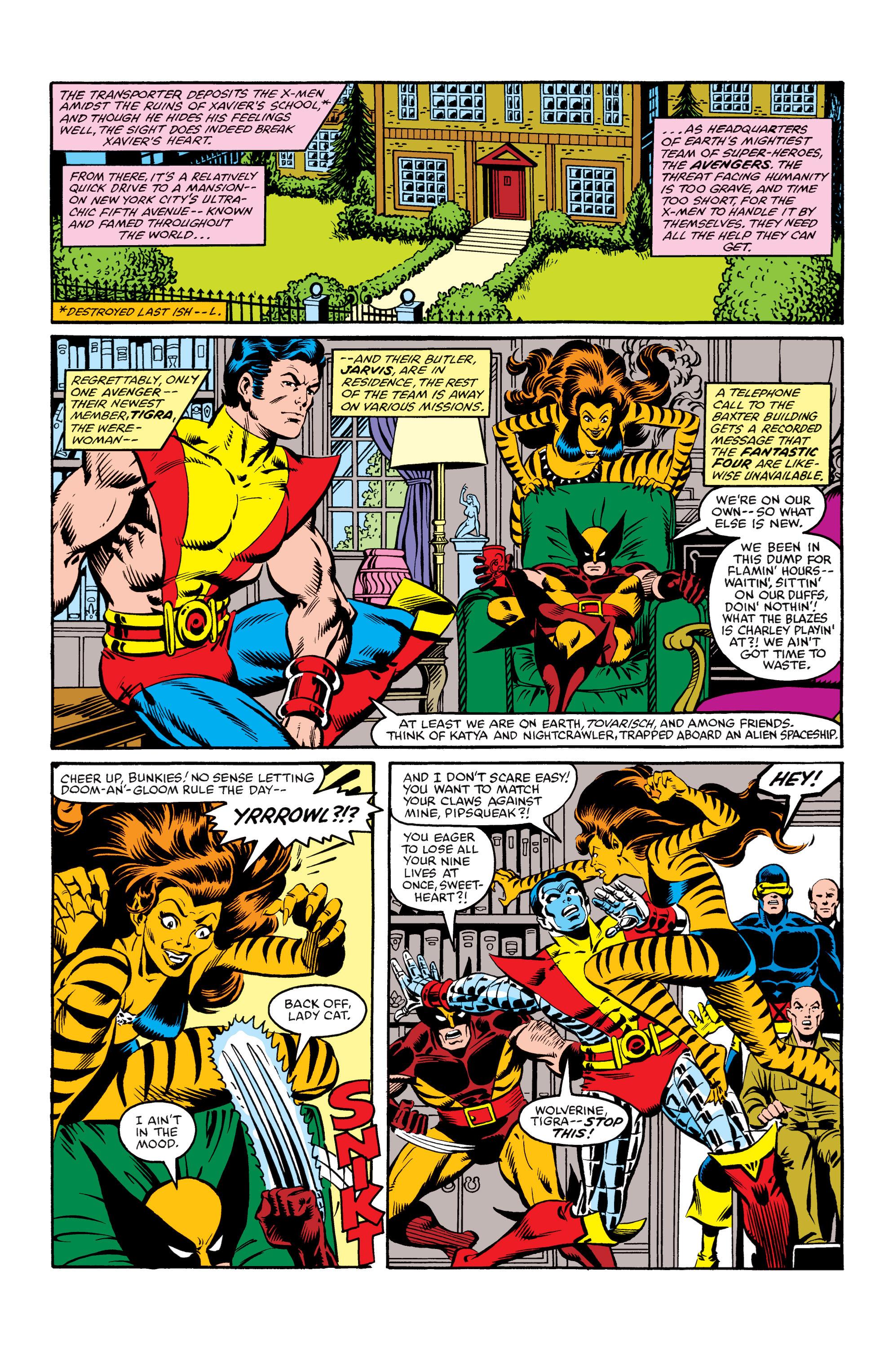 Read online Uncanny X-Men (1963) comic -  Issue #155 - 8