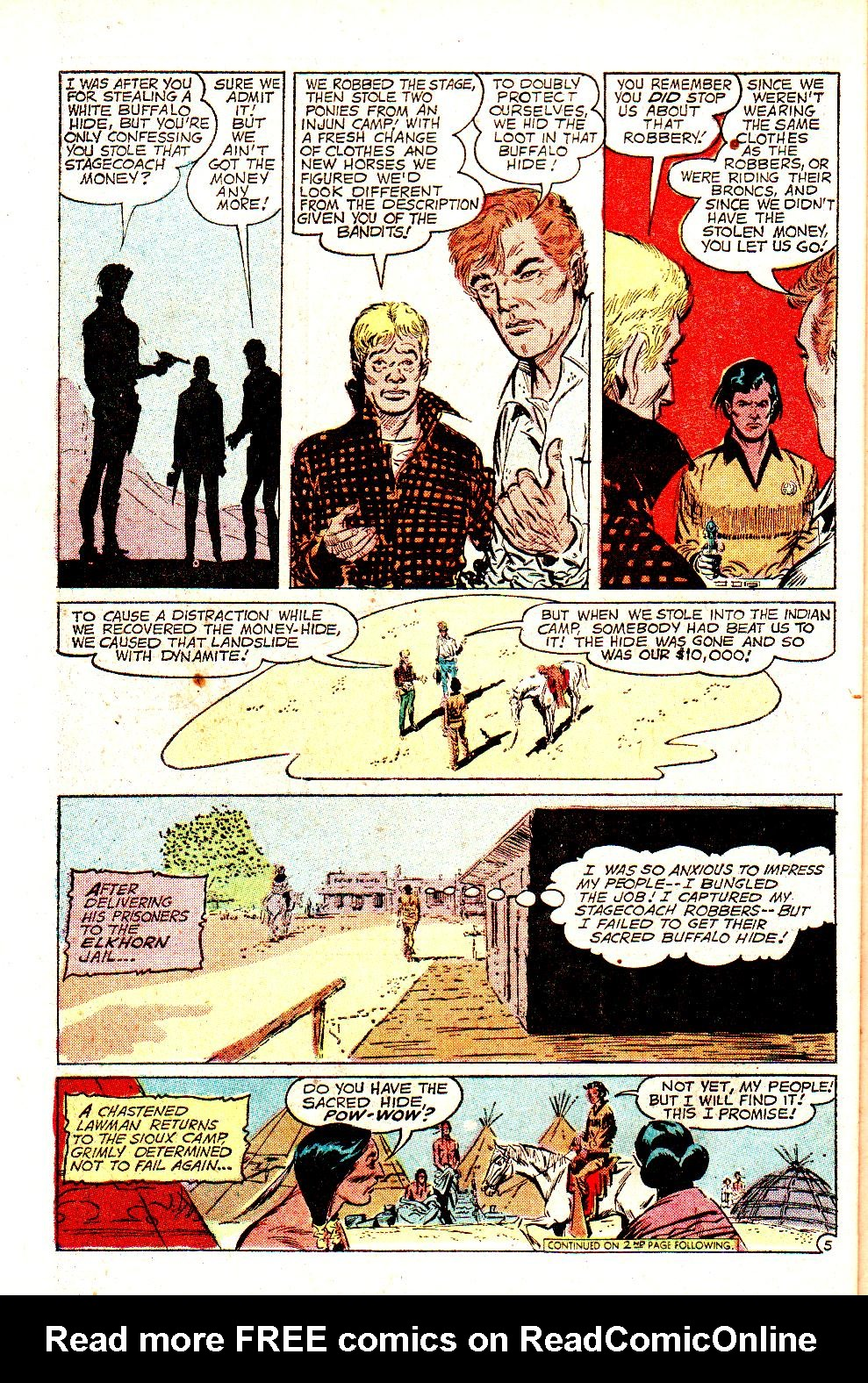 Read online All-Star Western (1970) comic -  Issue #11 - 32