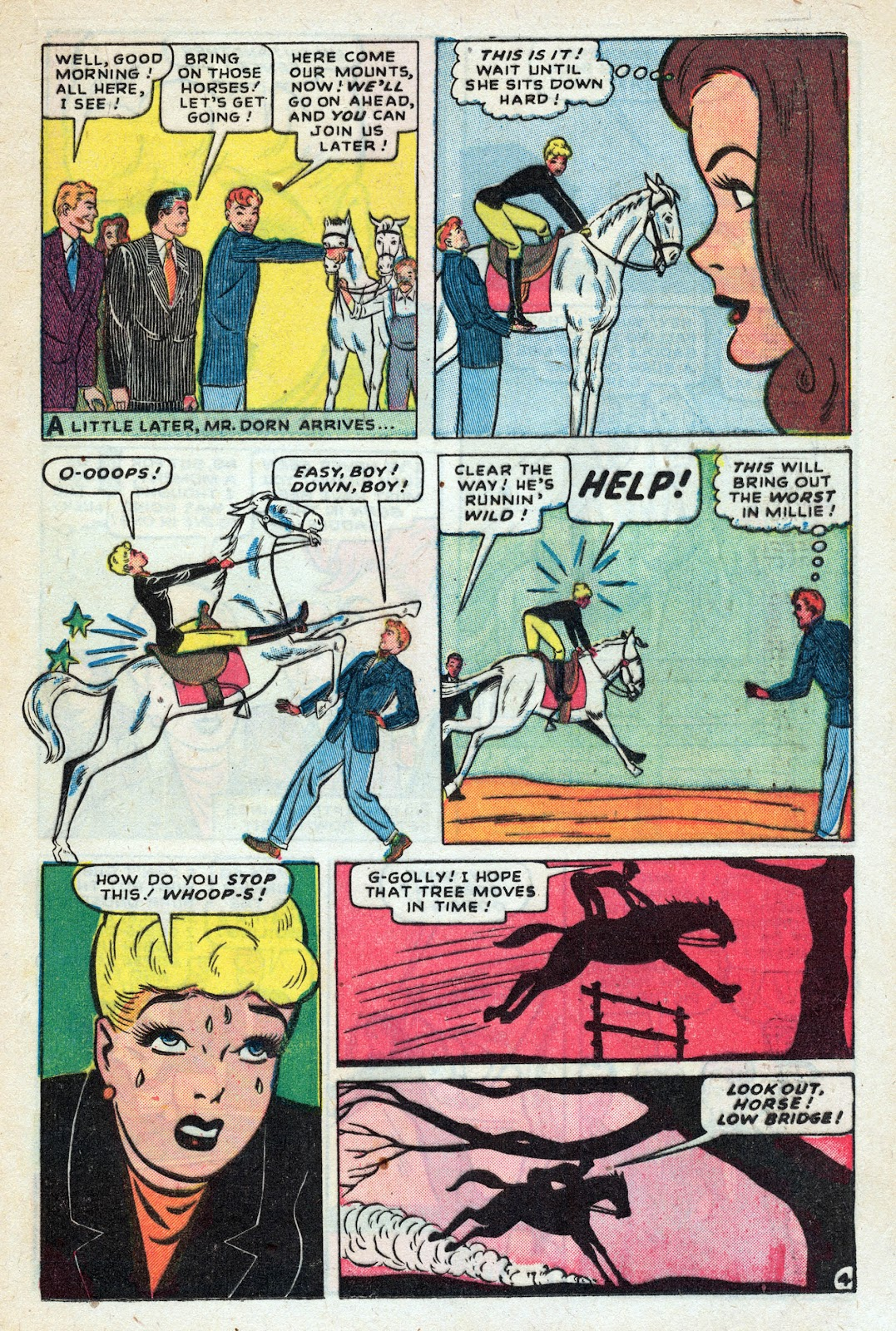 Read online Nellie The Nurse (1945) comic -  Issue #17 - 25