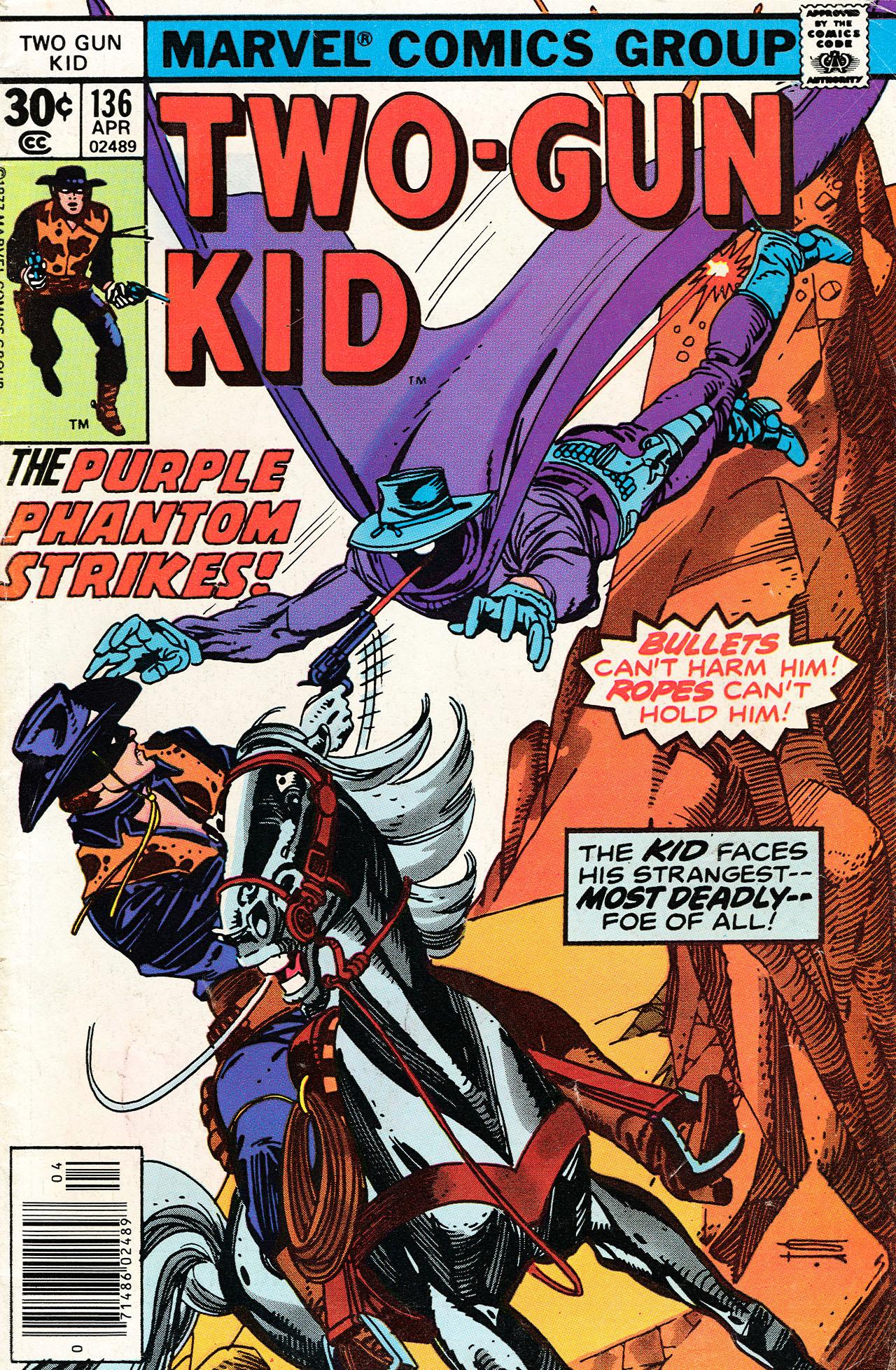 Read online Two-Gun Kid comic -  Issue #136 - 1