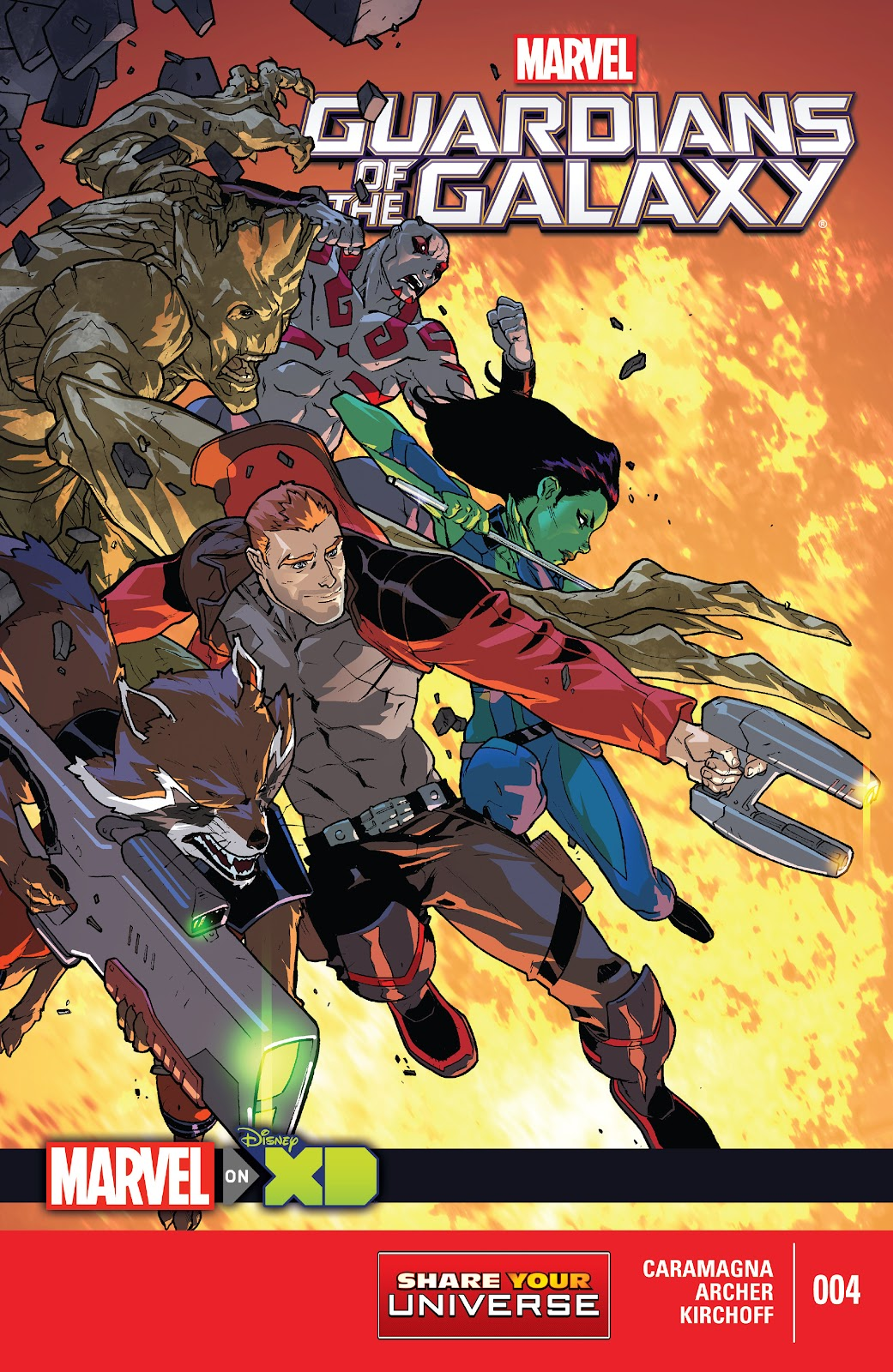 Read online Marvel Universe Guardians of the Galaxy [I] comic -  Issue #4 - 1