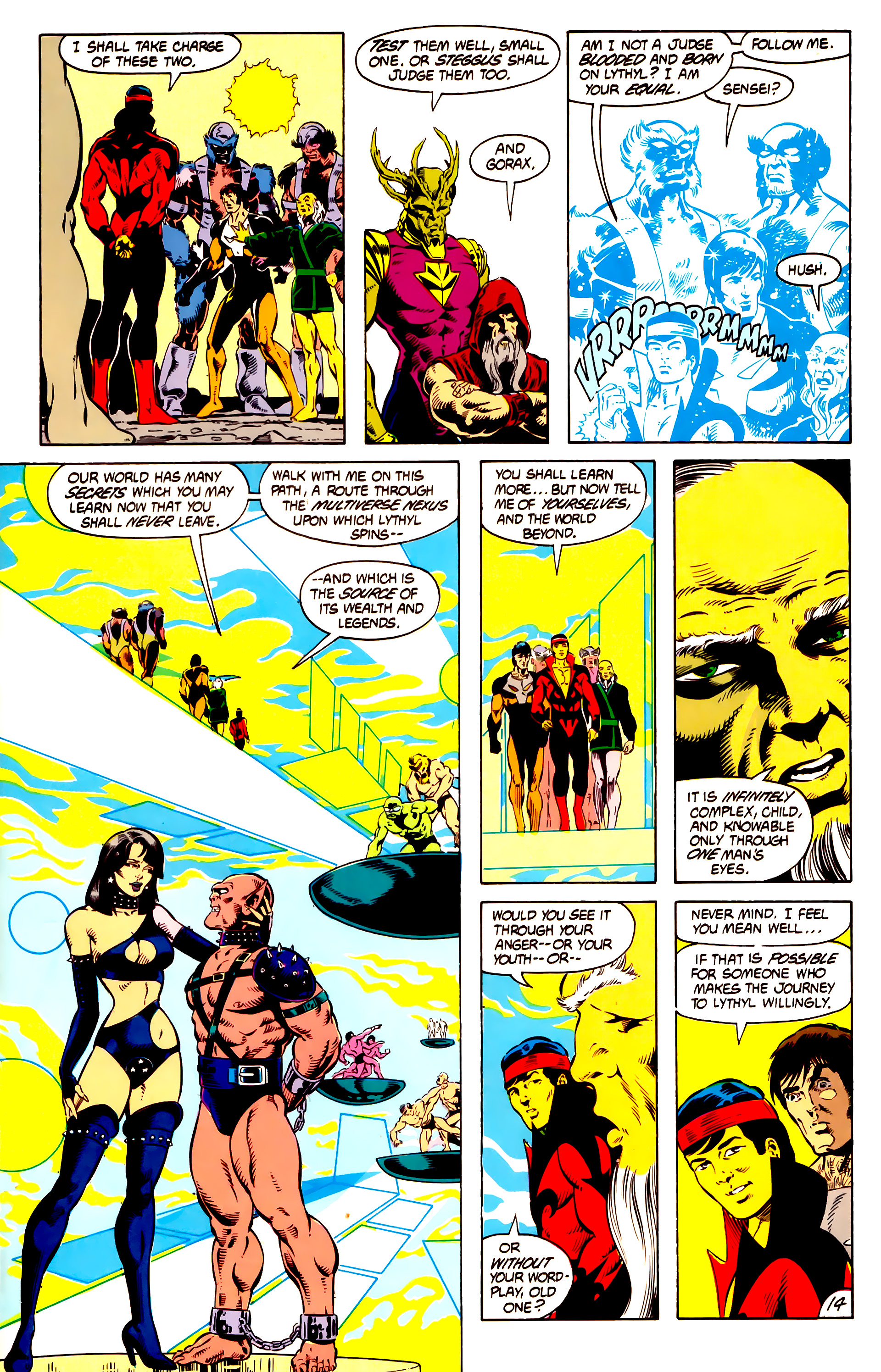 Legion of Super-Heroes (1984) 13 Page 15