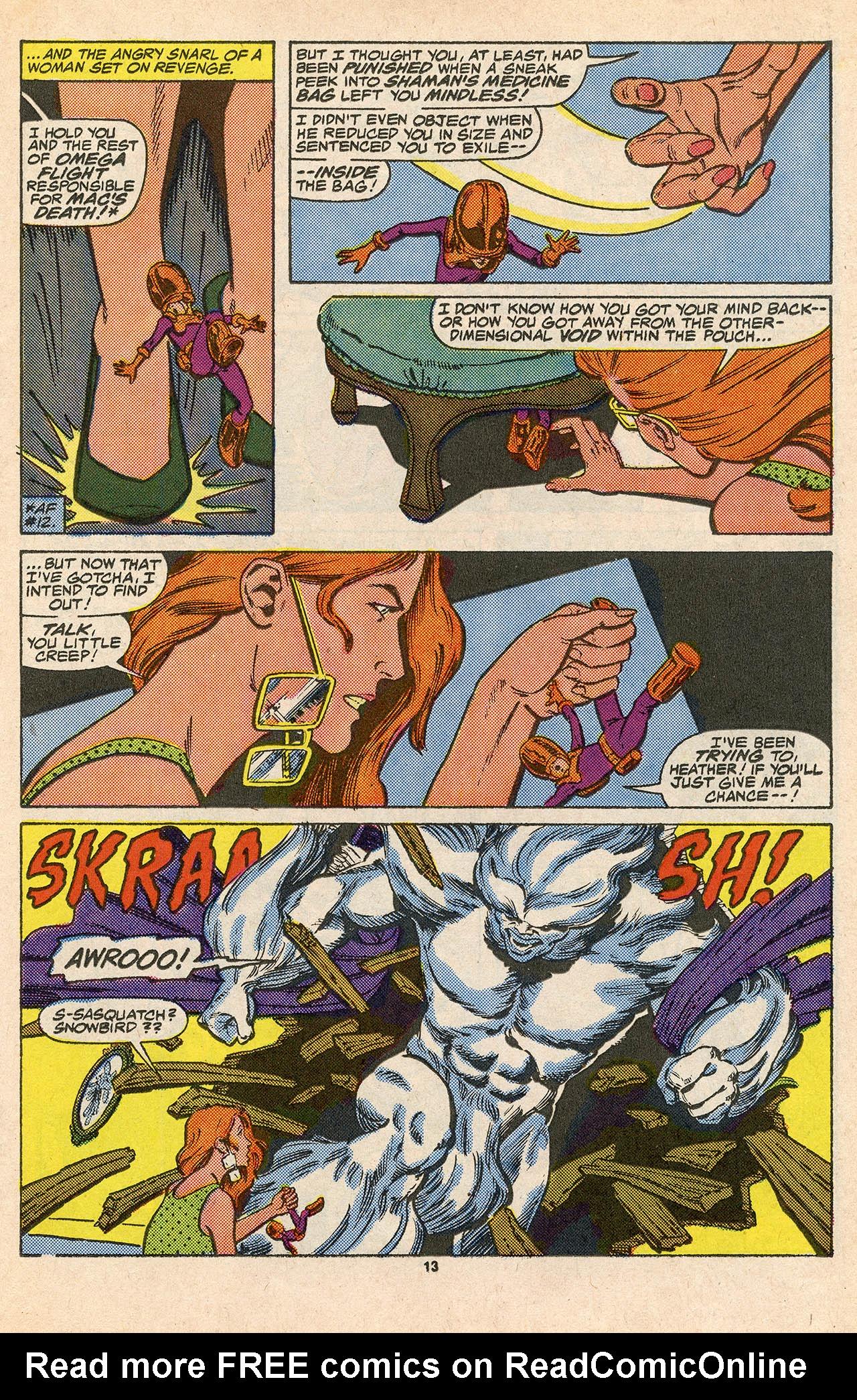 Read online Alpha Flight (1983) comic -  Issue #45 - 19