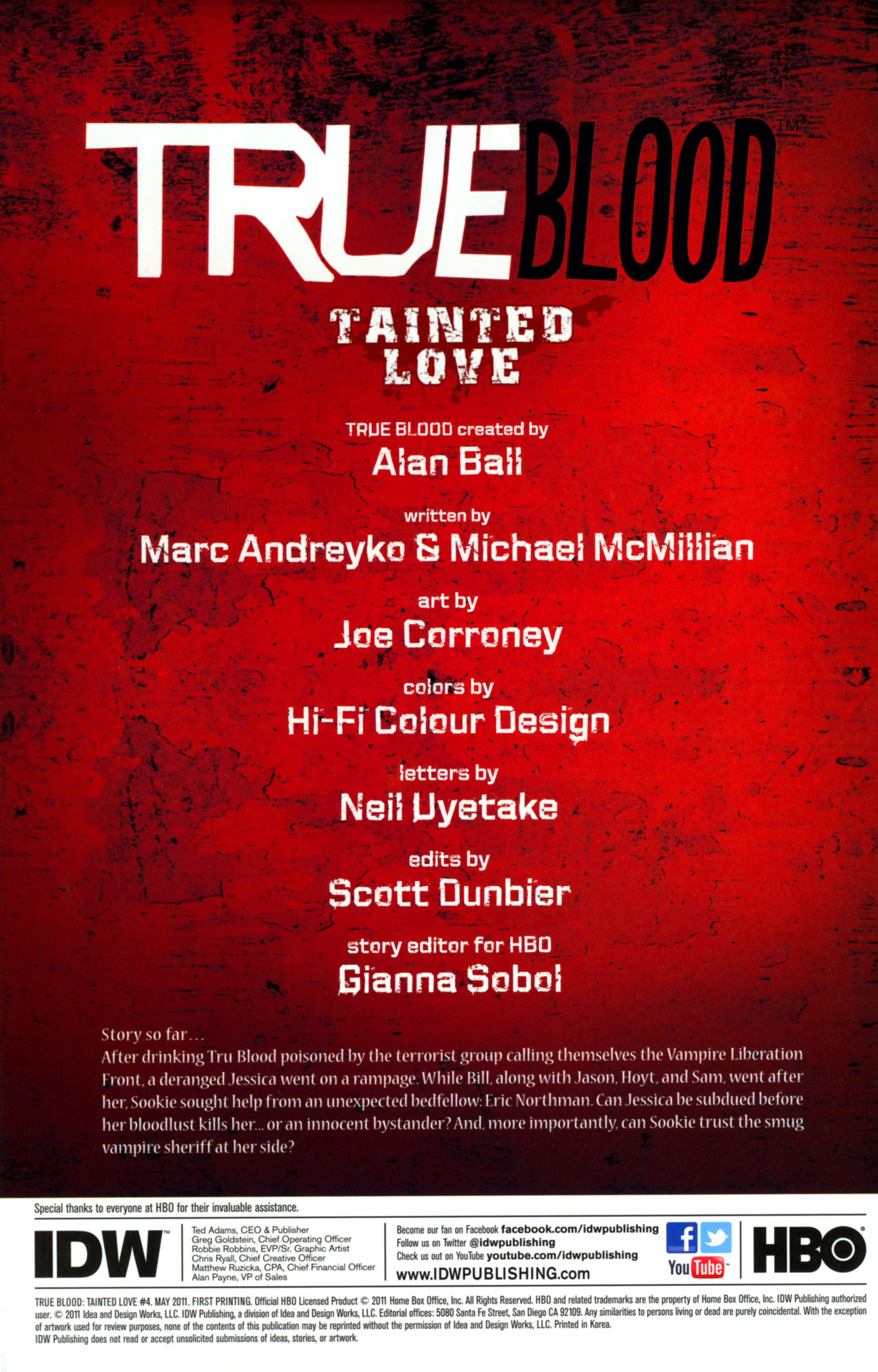 Read online True Blood: Tainted Love comic -  Issue #4 - 2