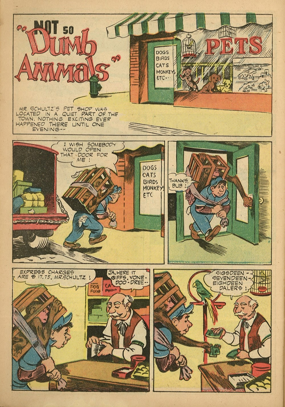 Read online Animal Comics comic -  Issue #24 - 40
