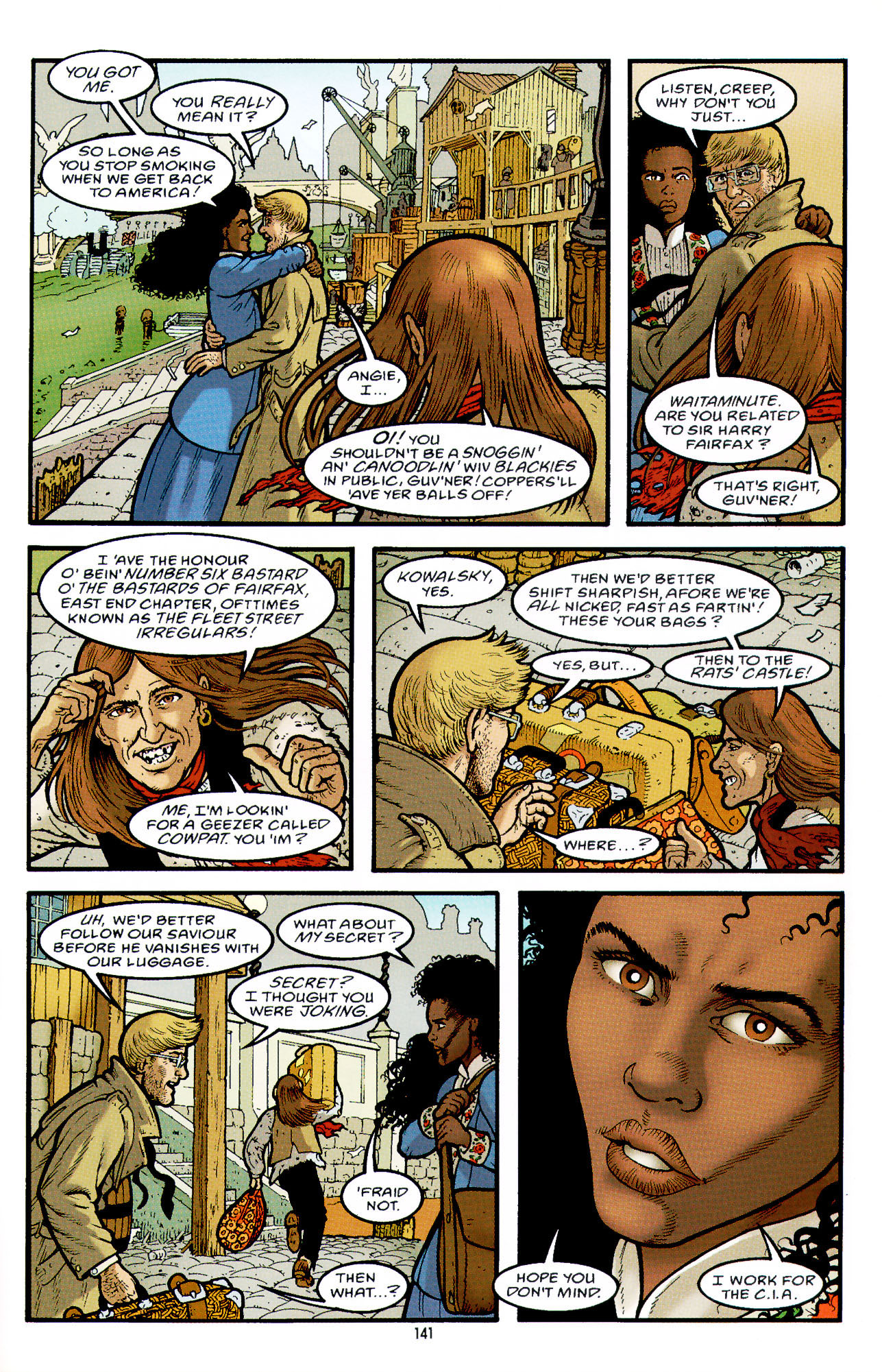 Read online Heart of Empire comic -  Issue #5 - 17