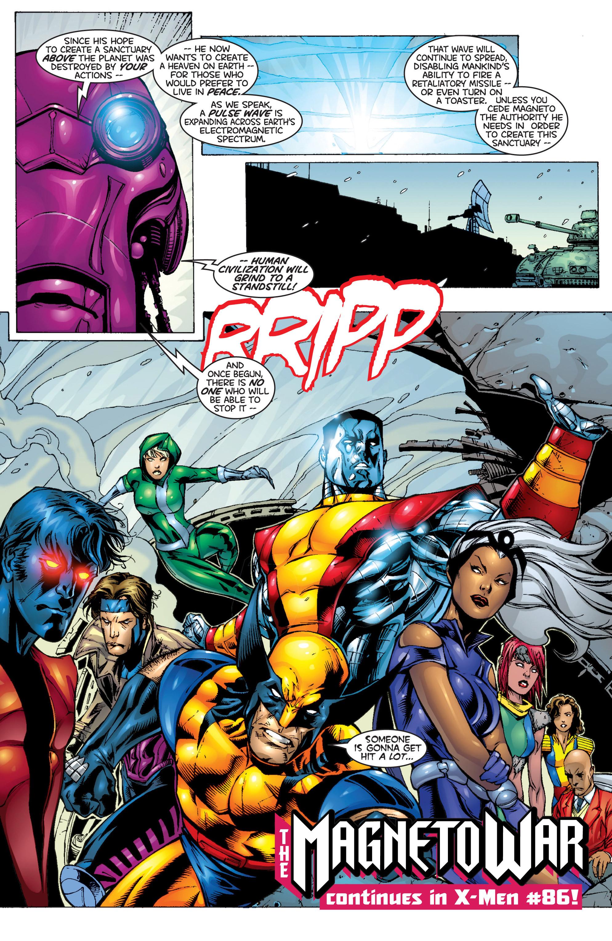 Read online Uncanny X-Men (1963) comic -  Issue #366 - 24