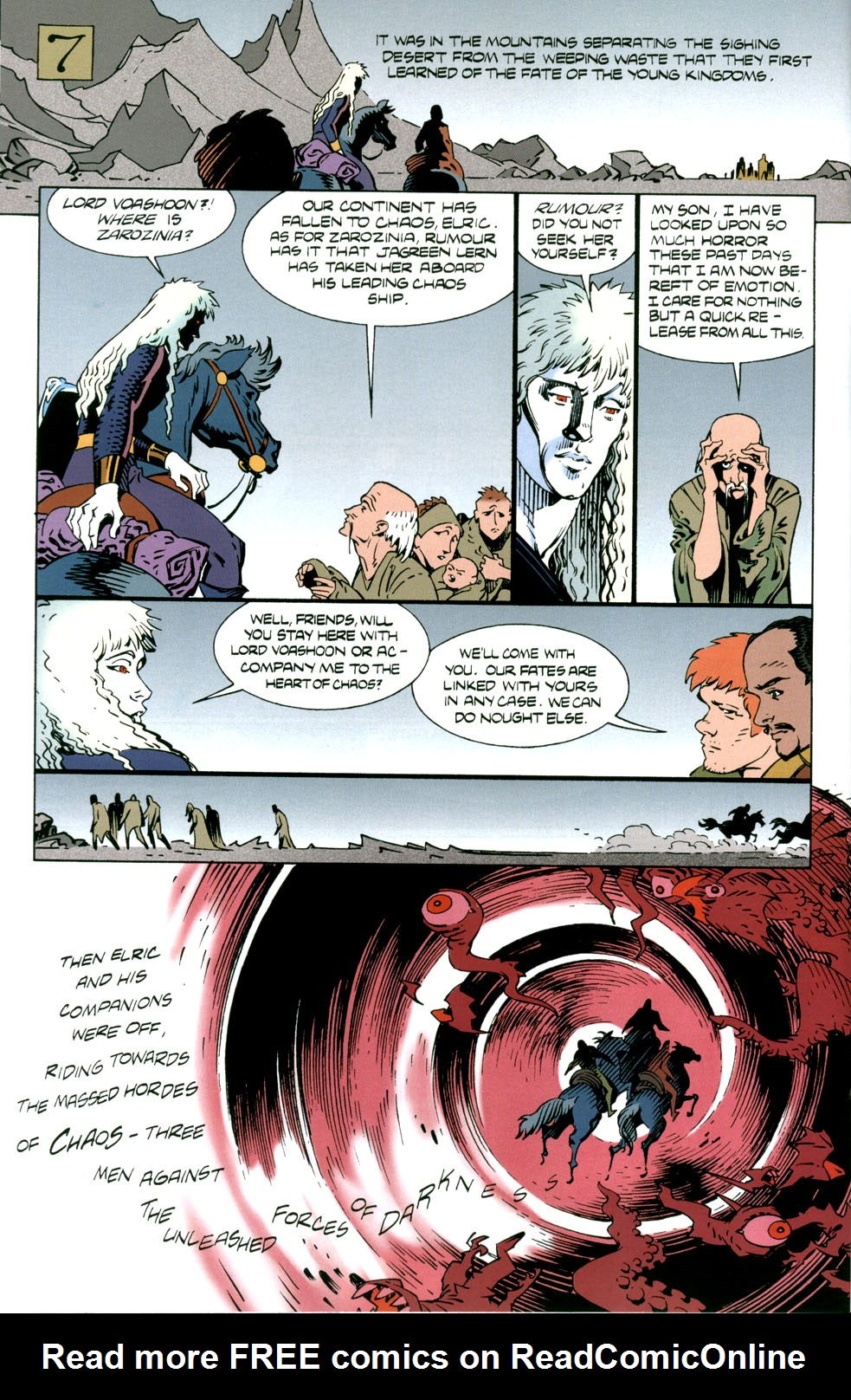 Read online Elric: Stormbringer comic -  Issue #5 - 20