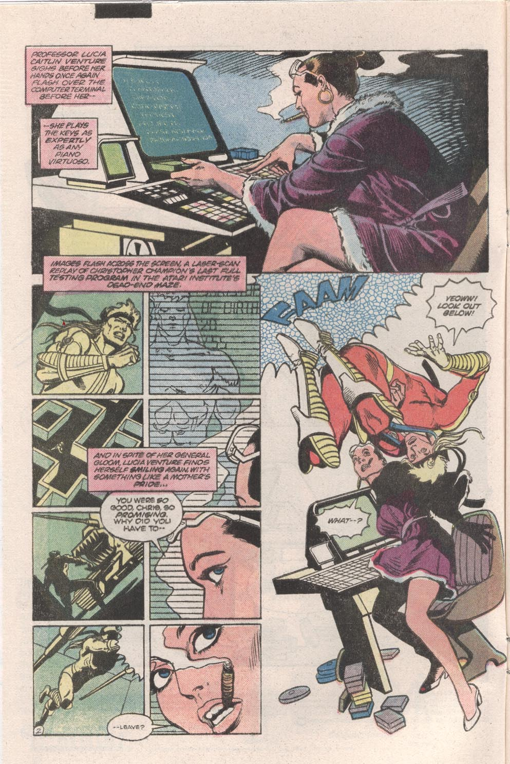 Read online Atari Force (1984) comic -  Issue #9 - 3