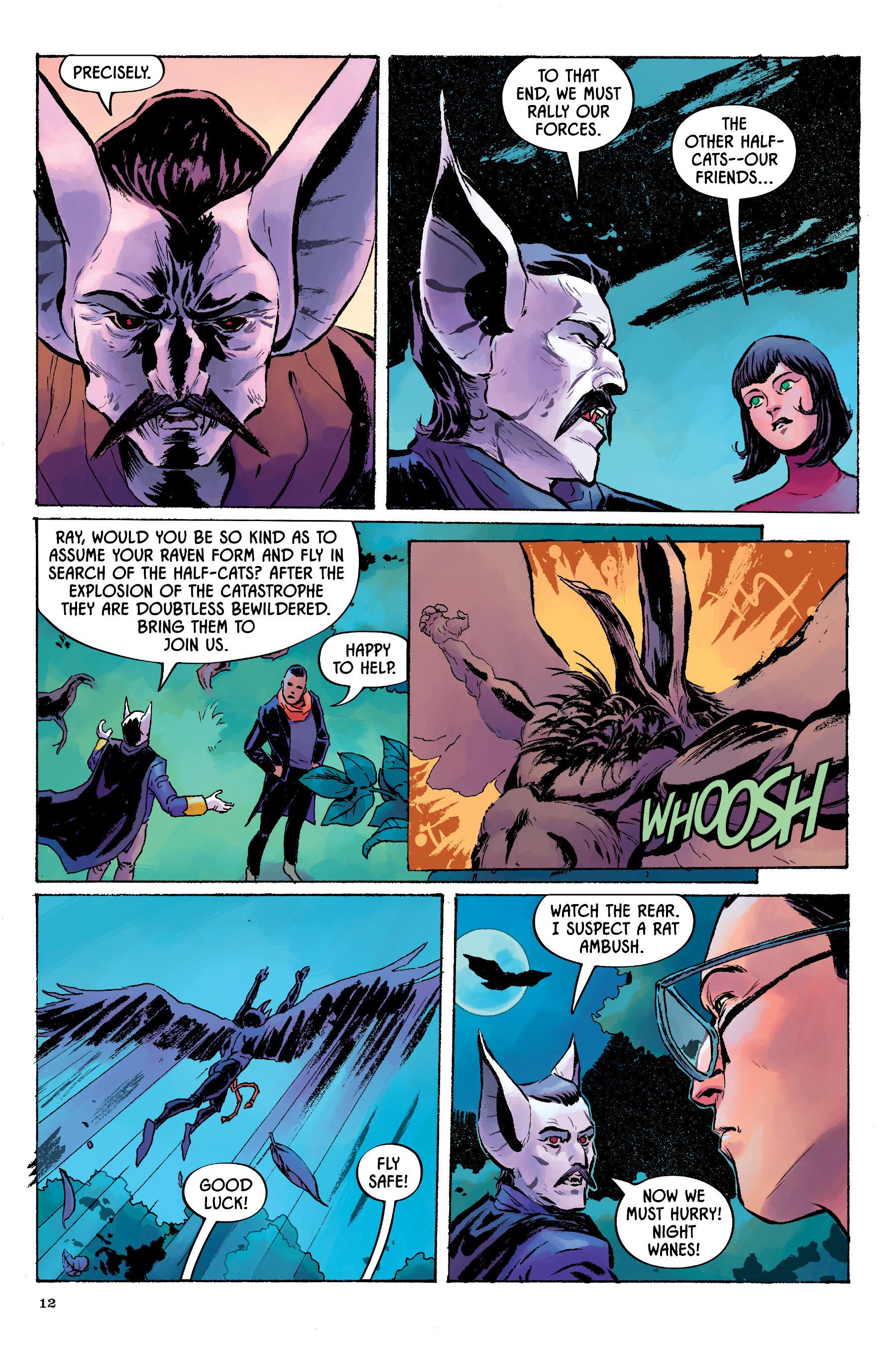 Read online Angel Catbird comic -  Issue # TPB 2 - 13