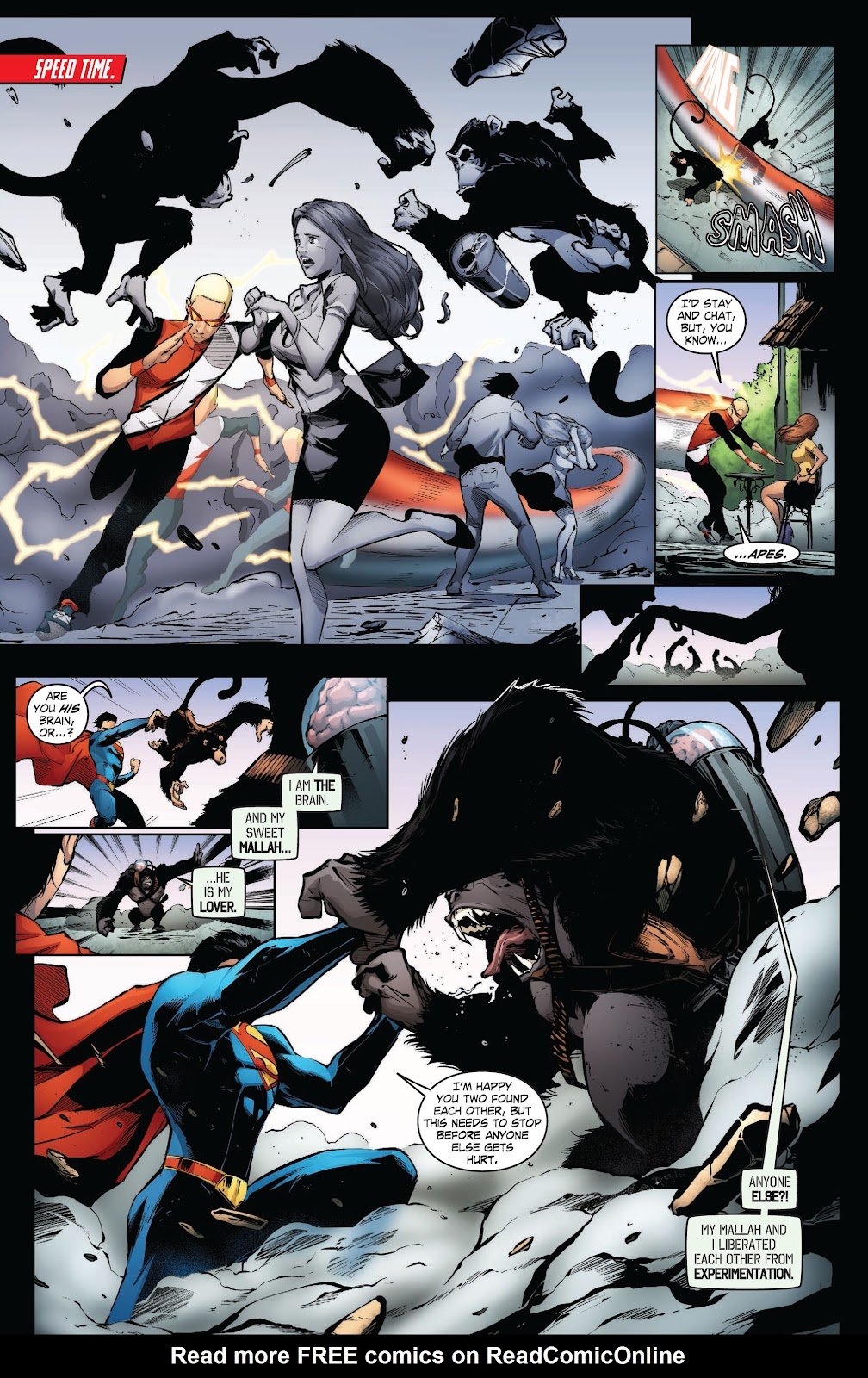 Read online Smallville Season 11 [II] comic -  Issue # TPB 3 - 32