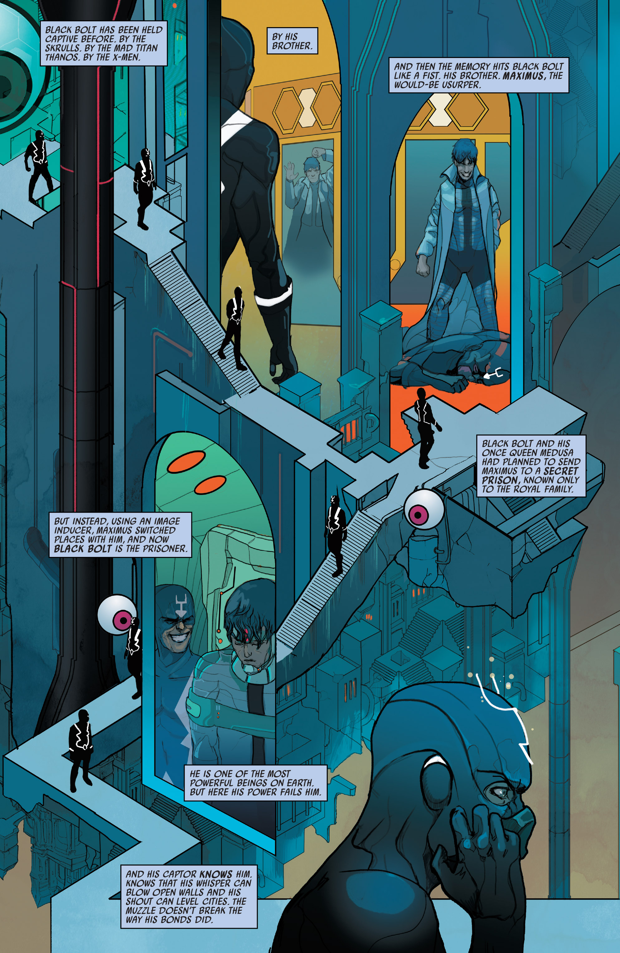 Read online Black Bolt comic -  Issue #1 - 9