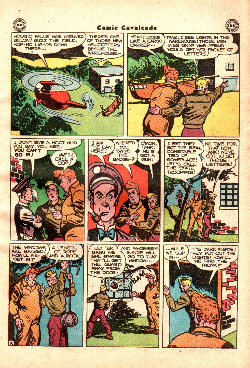 Comic Cavalcade issue 21 - Page 45