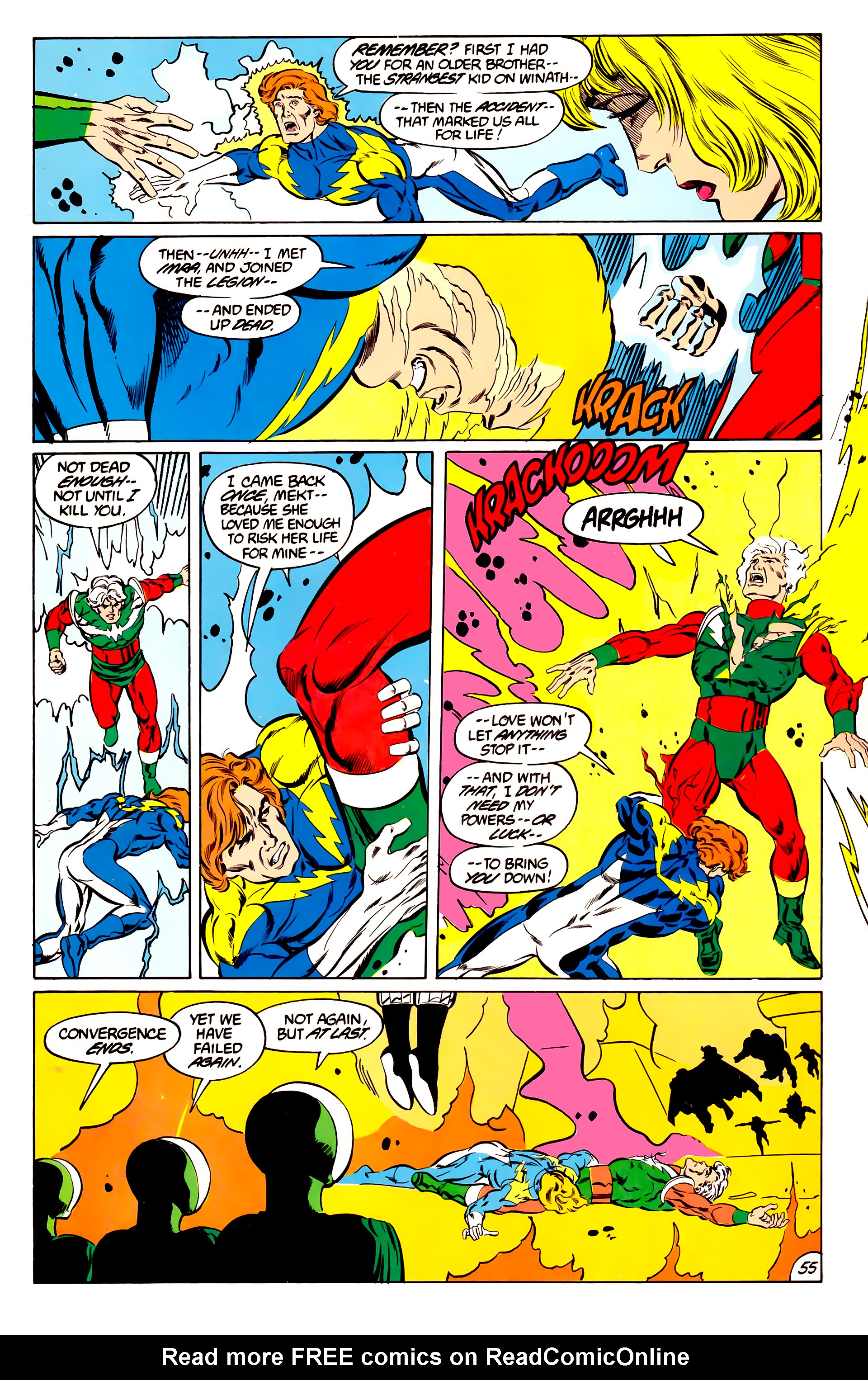 Legion of Super-Heroes (1984) 45 Page 54