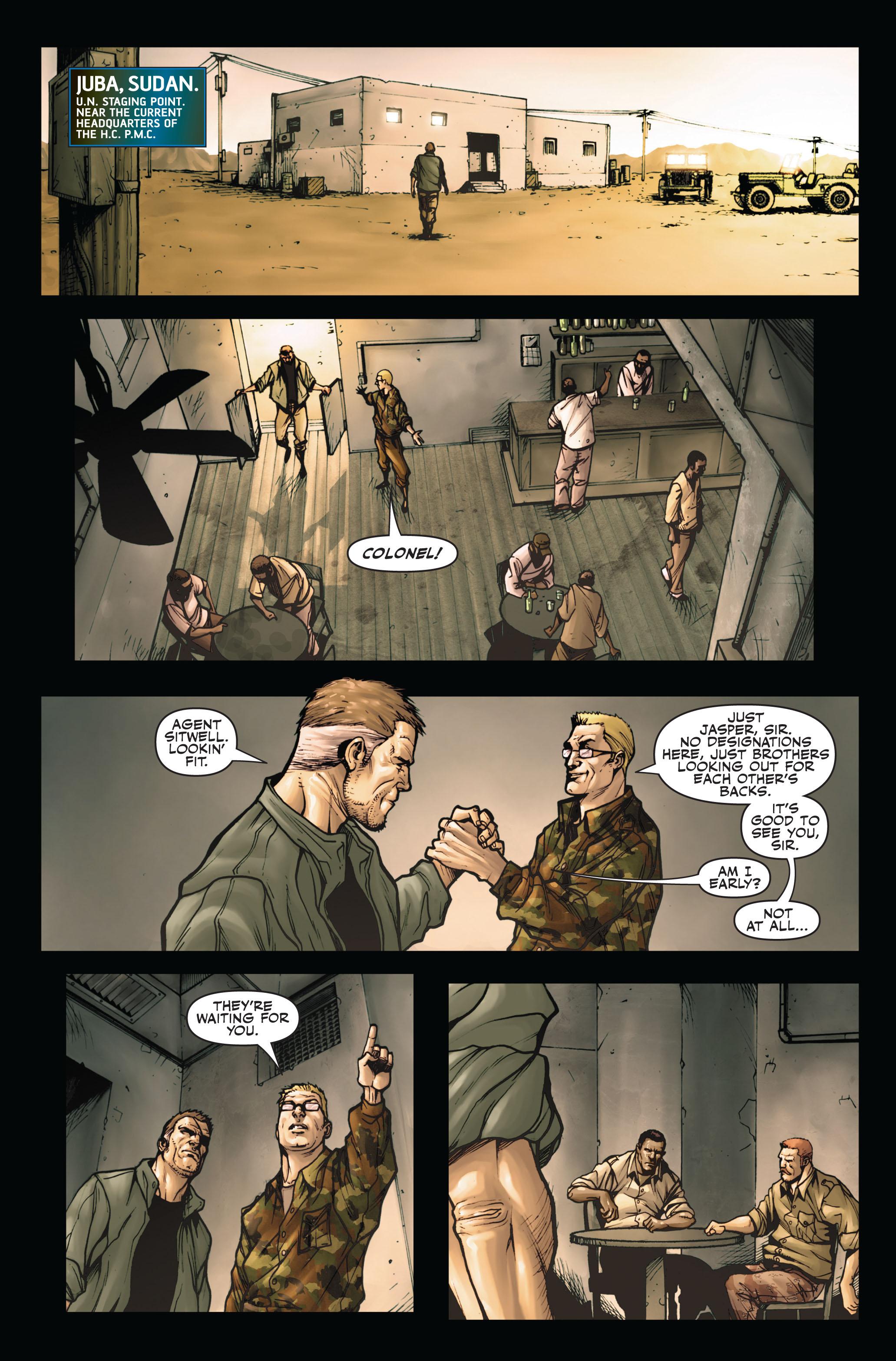 Read online Secret Warriors comic -  Issue #4 - 7