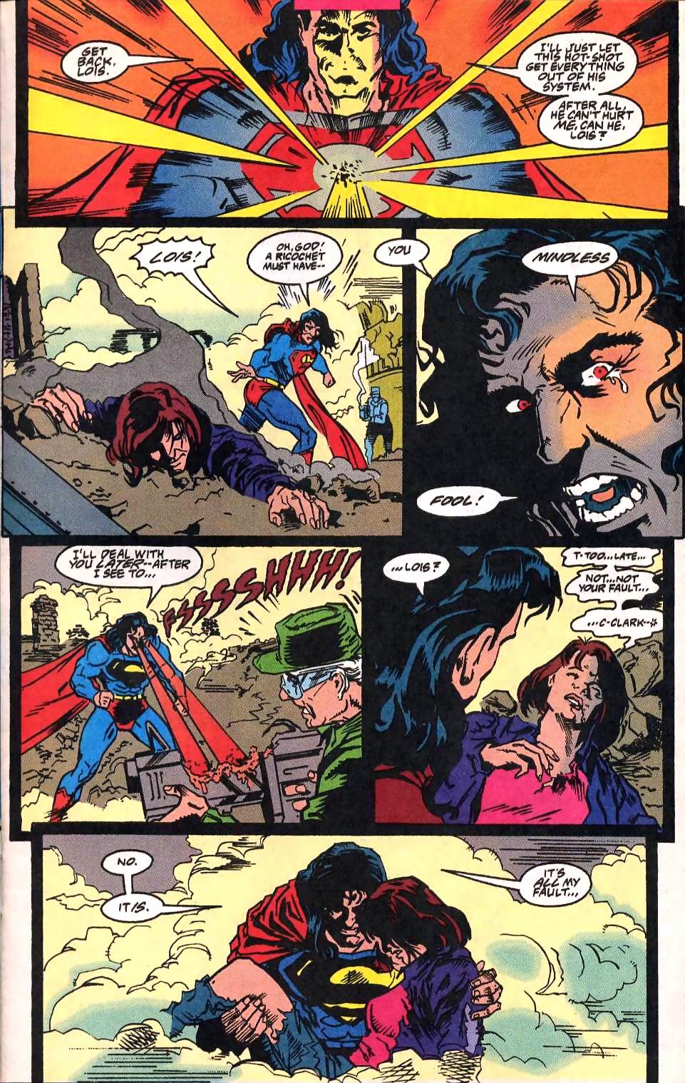Read online Adventures of Superman (1987) comic -  Issue #514 - 10