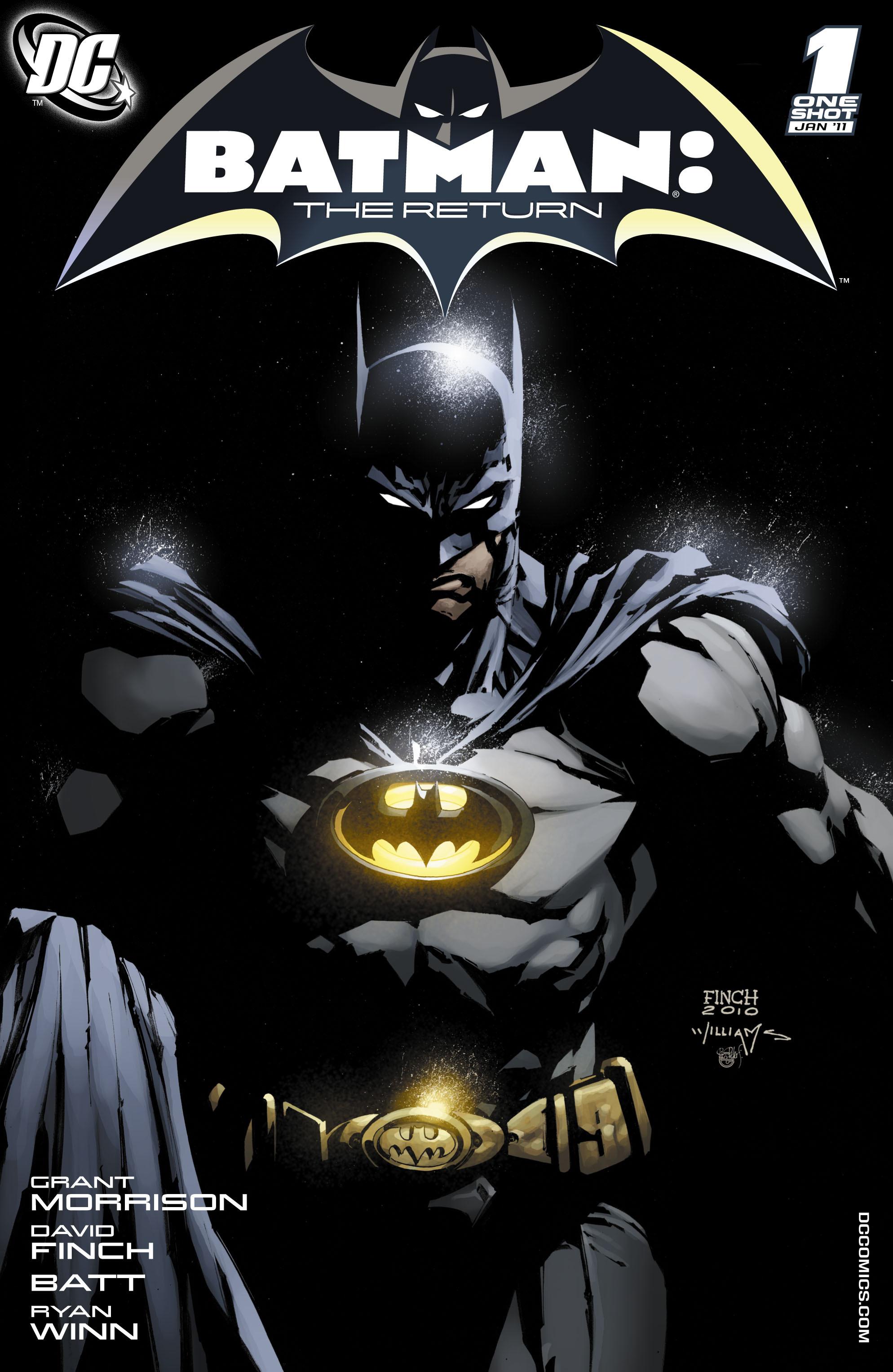 Read online Batman: The Return comic -  Issue # Full - 1