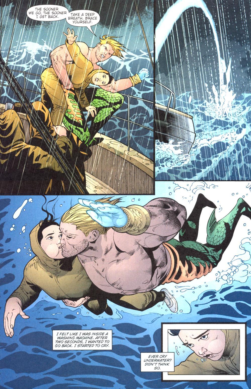 Read online Aquaman (2003) comic -  Issue #13 - 15