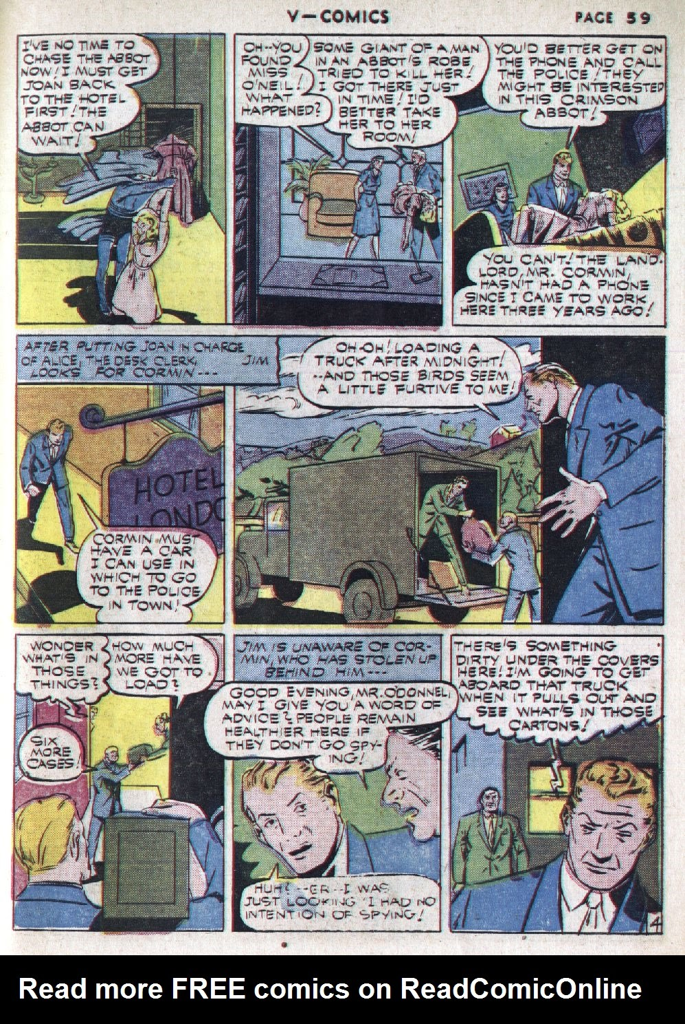 Read online V...- Comics comic -  Issue #1 - 60