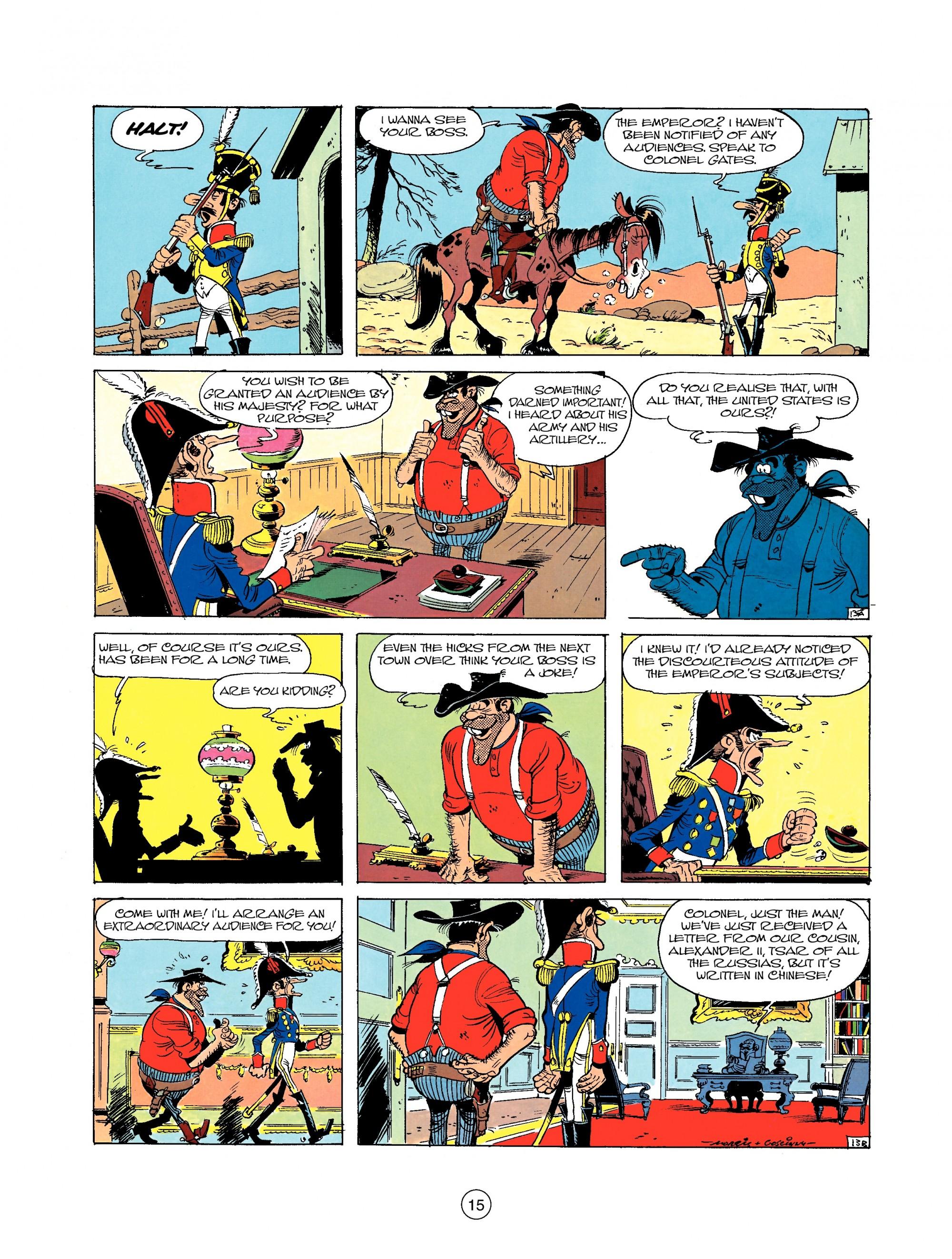 Read online A Lucky Luke Adventure comic -  Issue #22 - 15