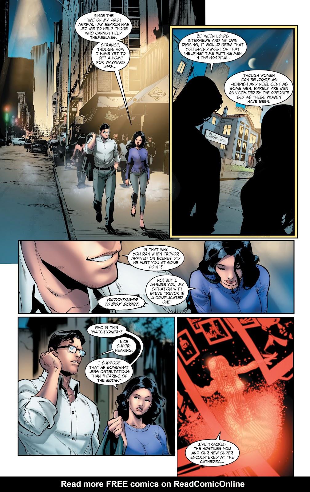 Read online Smallville Season 11 [II] comic -  Issue # TPB 5 - 47