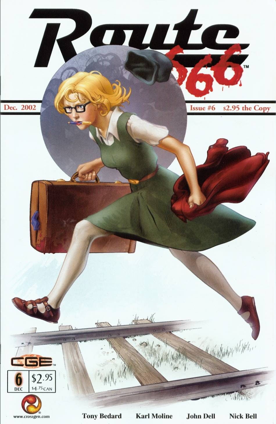 Read online Route 666 comic -  Issue #6 - 1