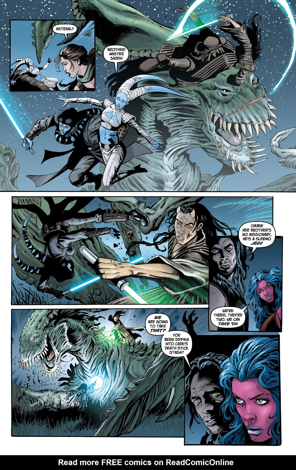 Read online Star Wars Legends: Legacy - Epic Collection comic -  Issue # TPB 1 (Part 1) - 85