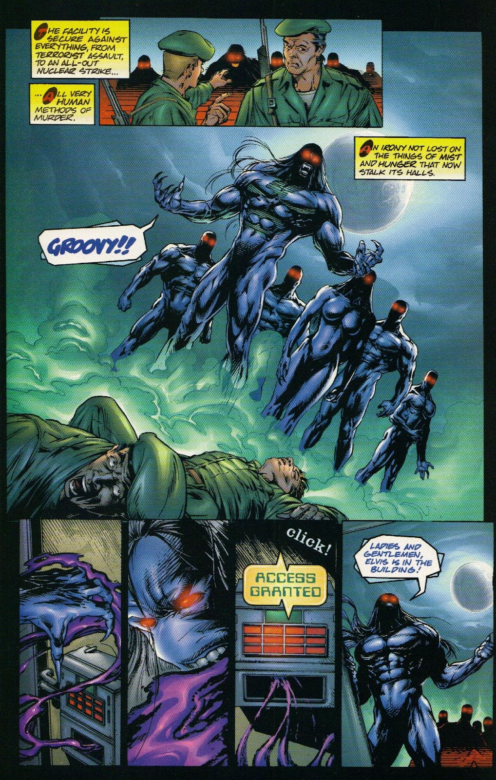 Vampirella vs Hemorrhage issue 1 - Page 4