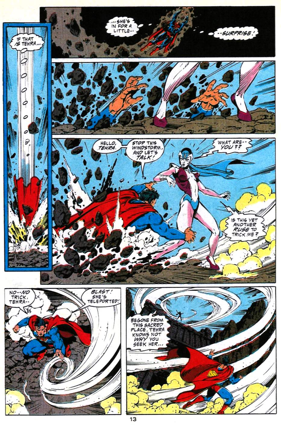 Read online Adventures of Superman (1987) comic -  Issue #490 - 14