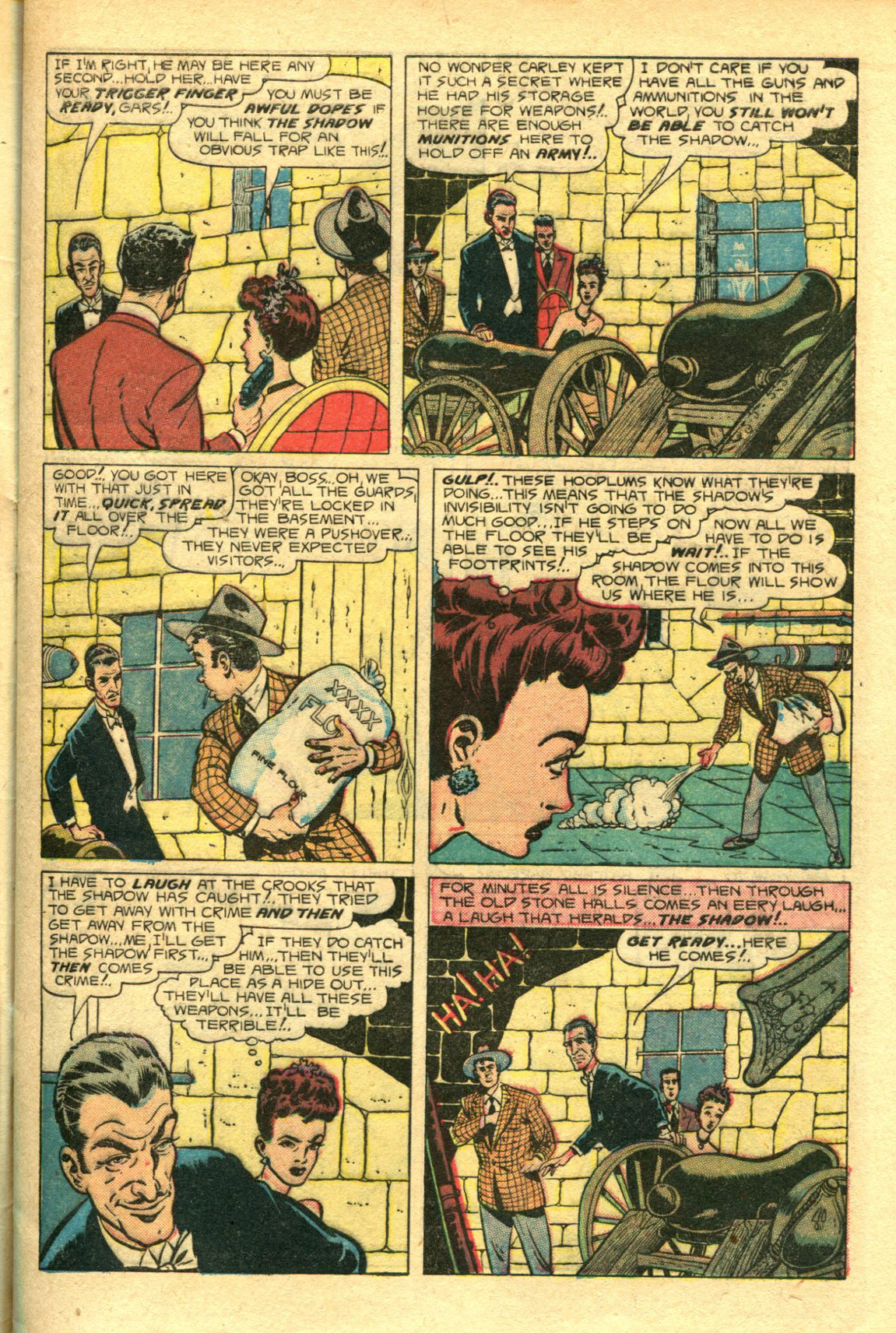 Read online Shadow Comics comic -  Issue #98 - 9
