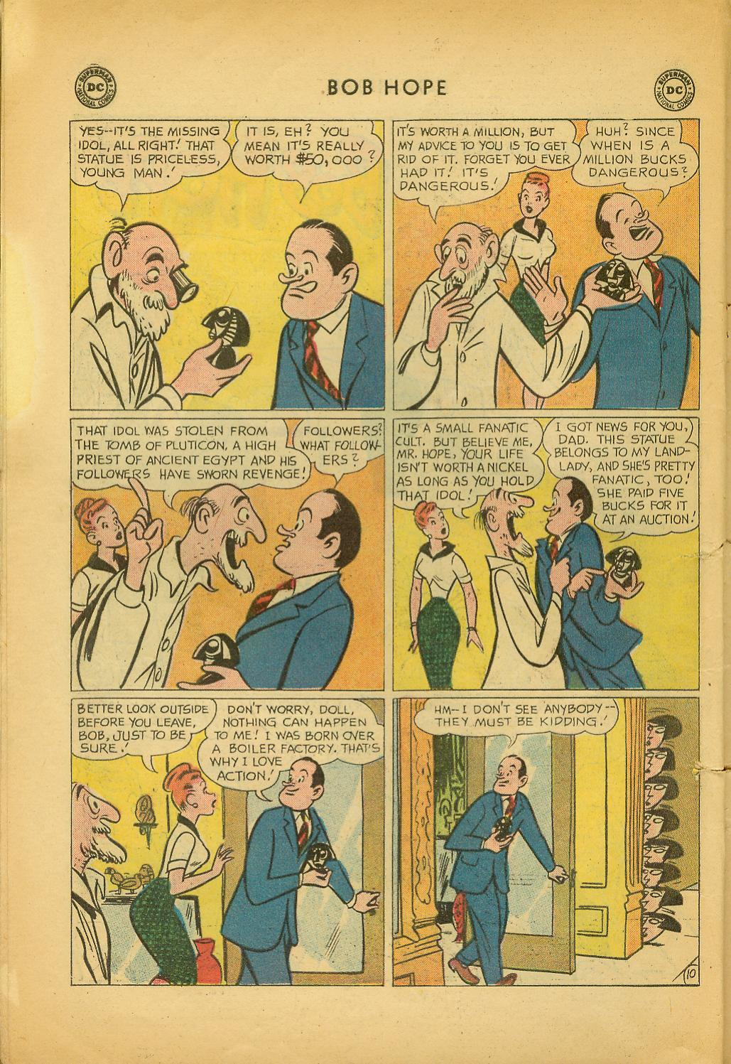 The Adventures of Bob Hope issue 64 - Page 14