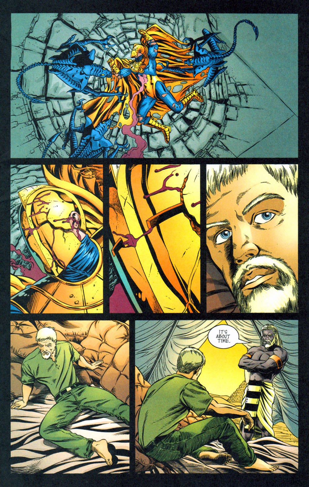 Read online Doctor Fate (2003) comic -  Issue #4 - 8