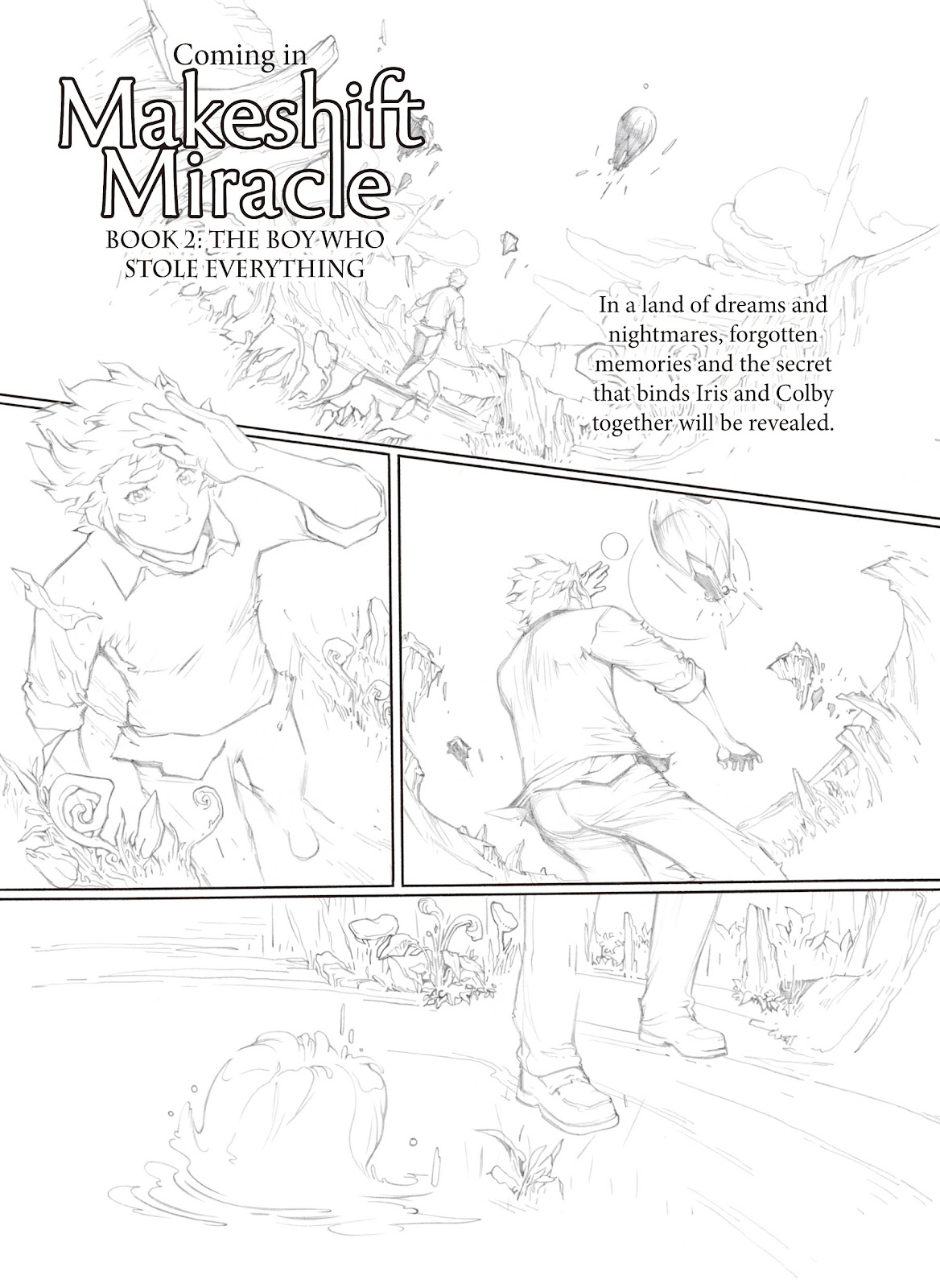 Read online Makeshift Miracle: The Girl From Nowhere comic -  Issue #6 - 17