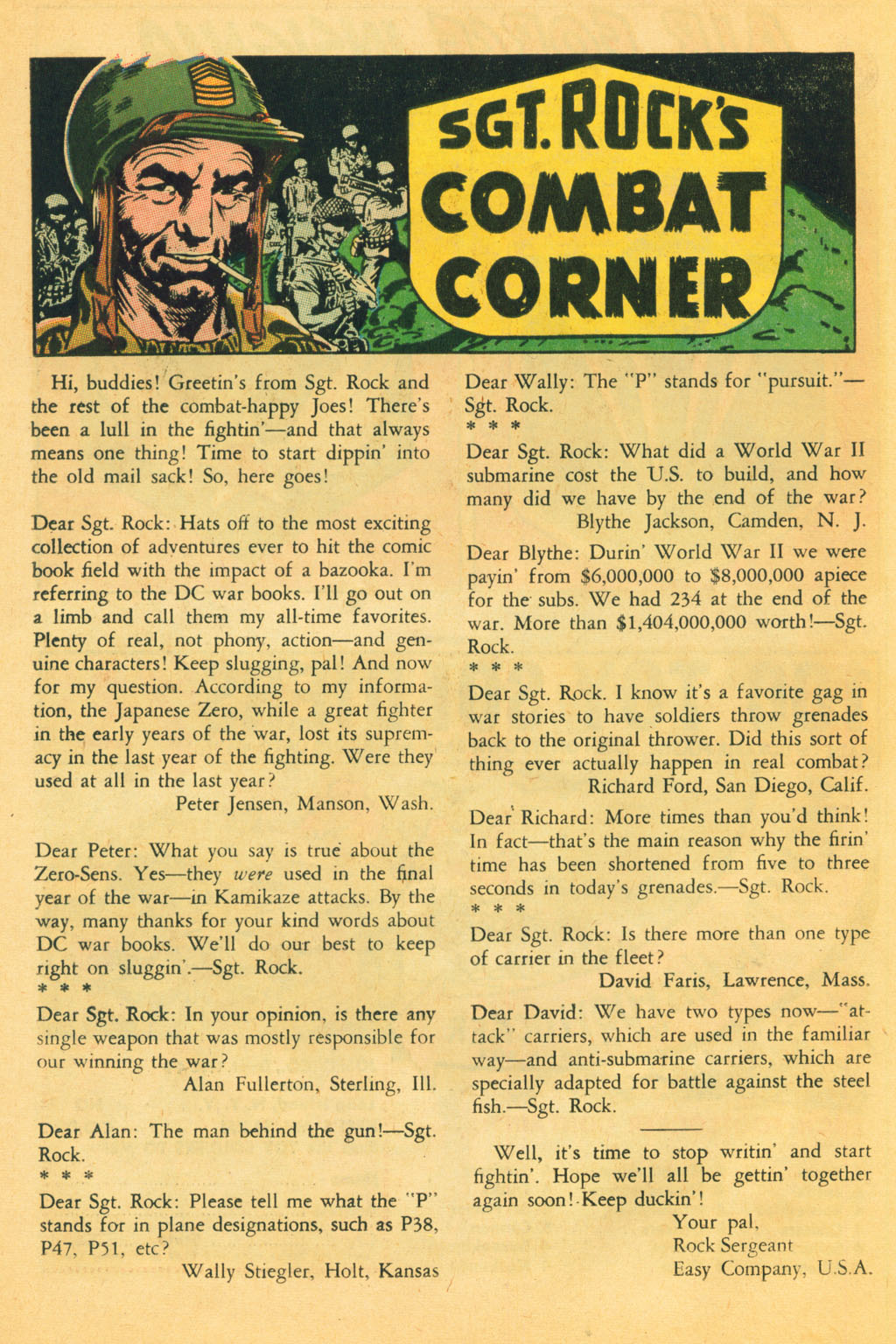 Our Fighting Forces (1954) issue 80 - Page 22