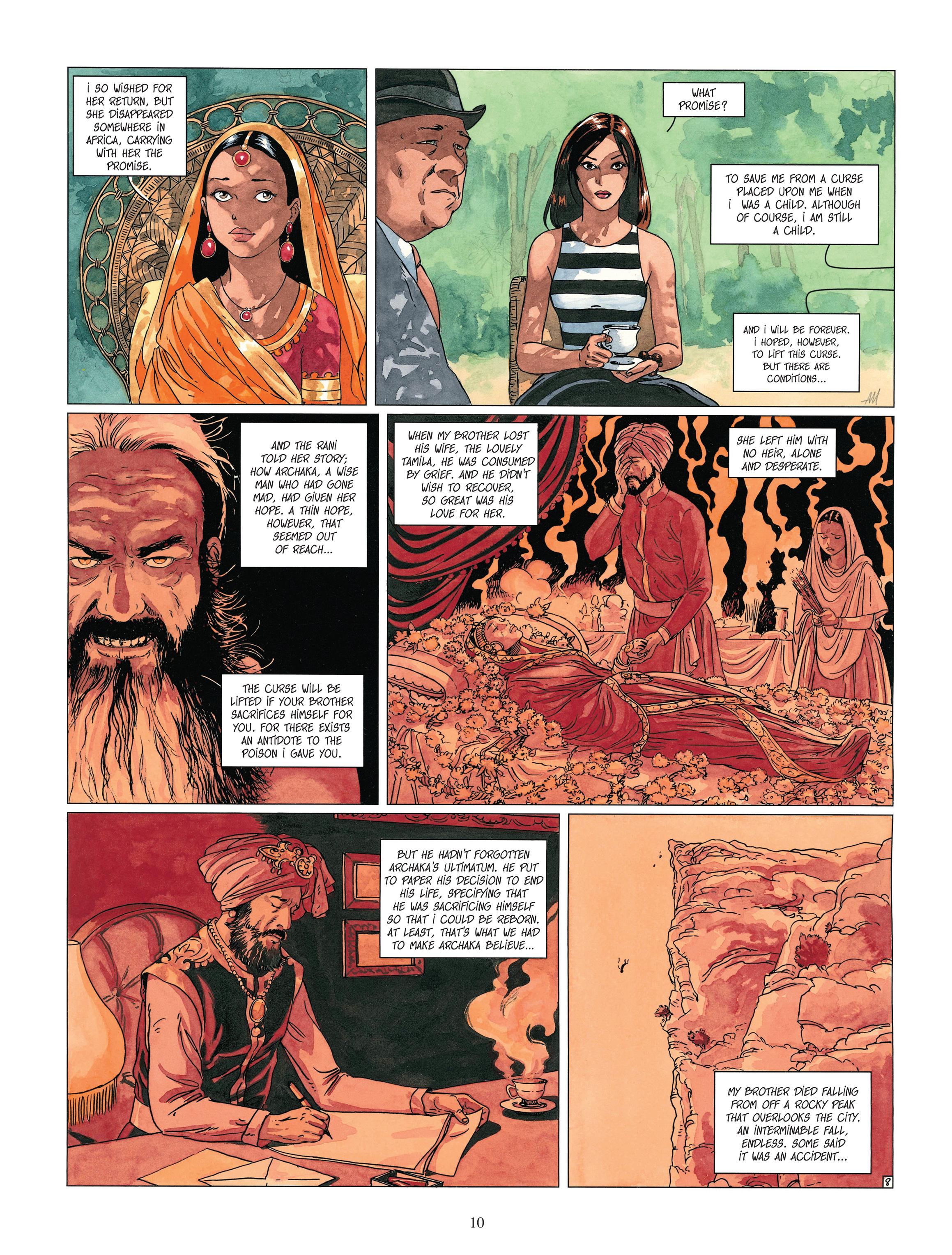 Read online Djinn comic -  Issue #13 - 11